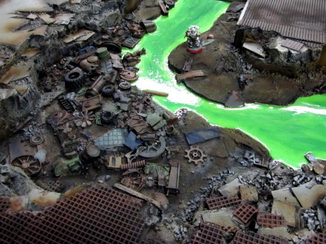 Rubble, Ruins, Terrain, Water