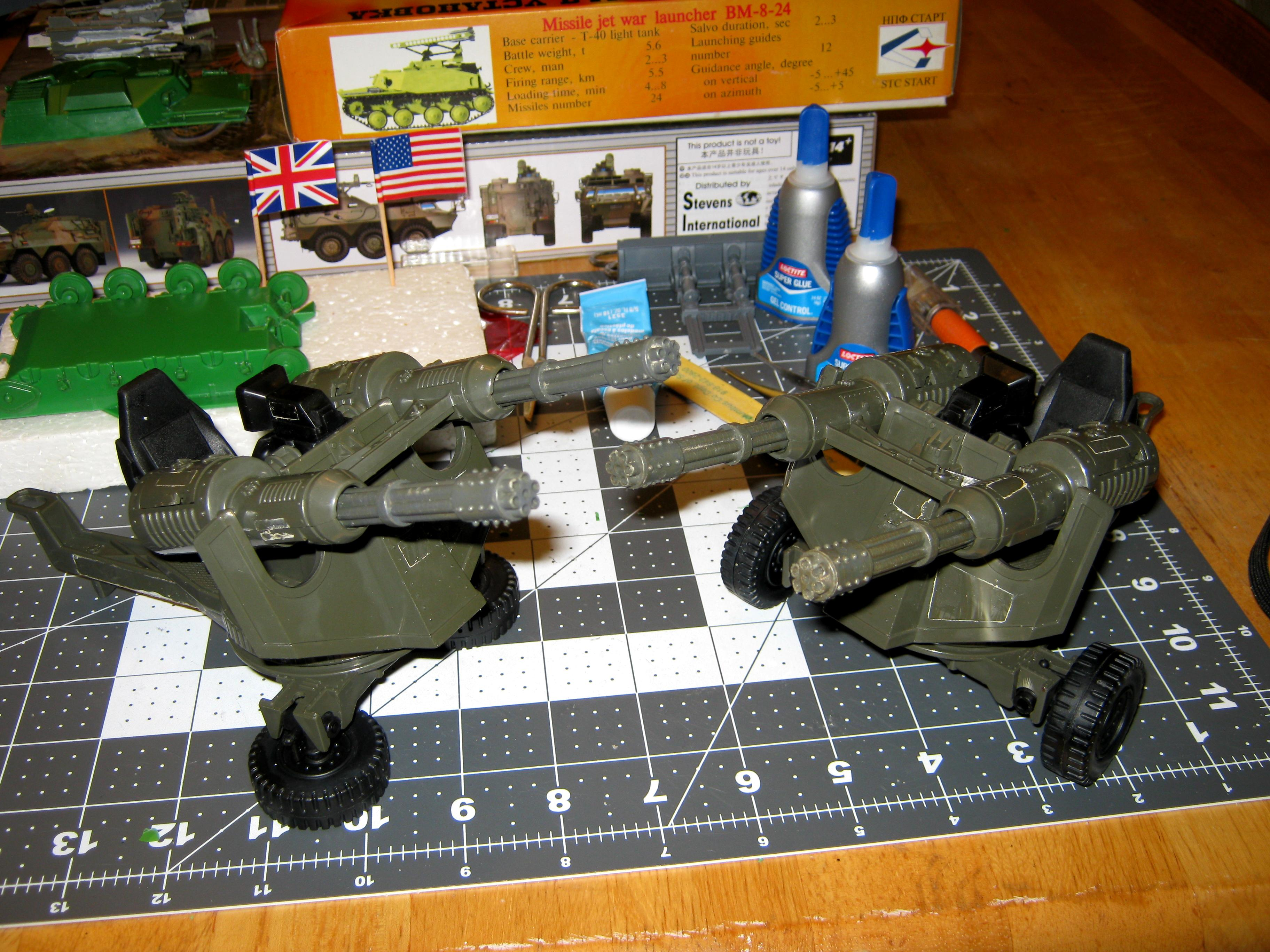 Anti-aircraft, Artillery, Conversion, G.i. Joe, Toy