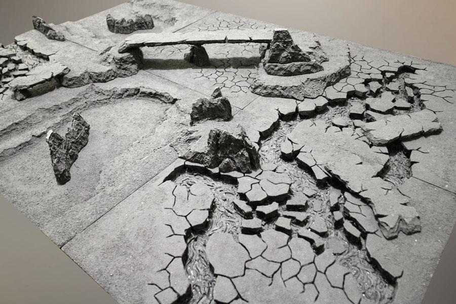 Lava, Modular, Terrain