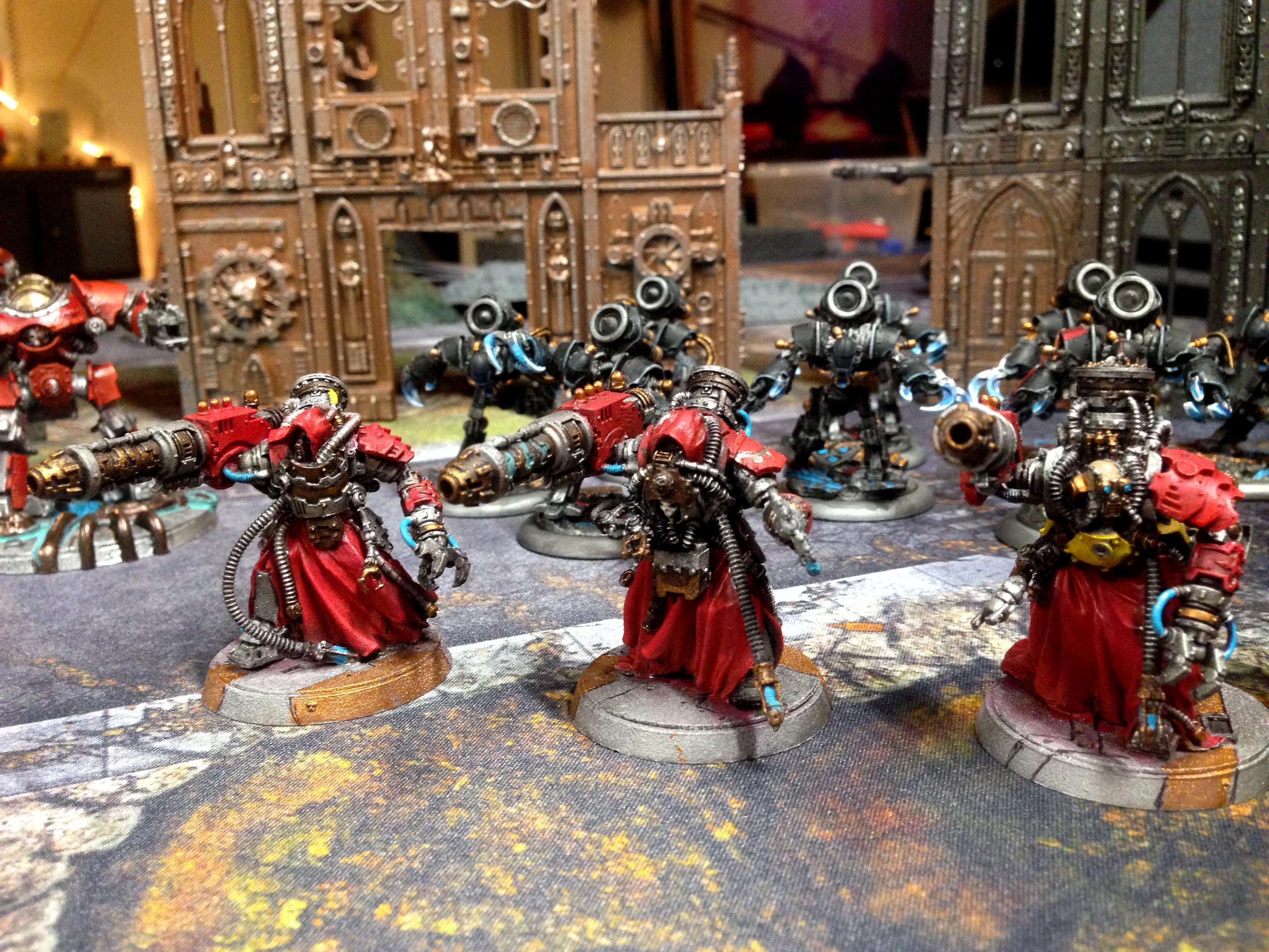 30k, Heresy, Infantry, Mechanicum, Myrmidons, Ordo Reductor