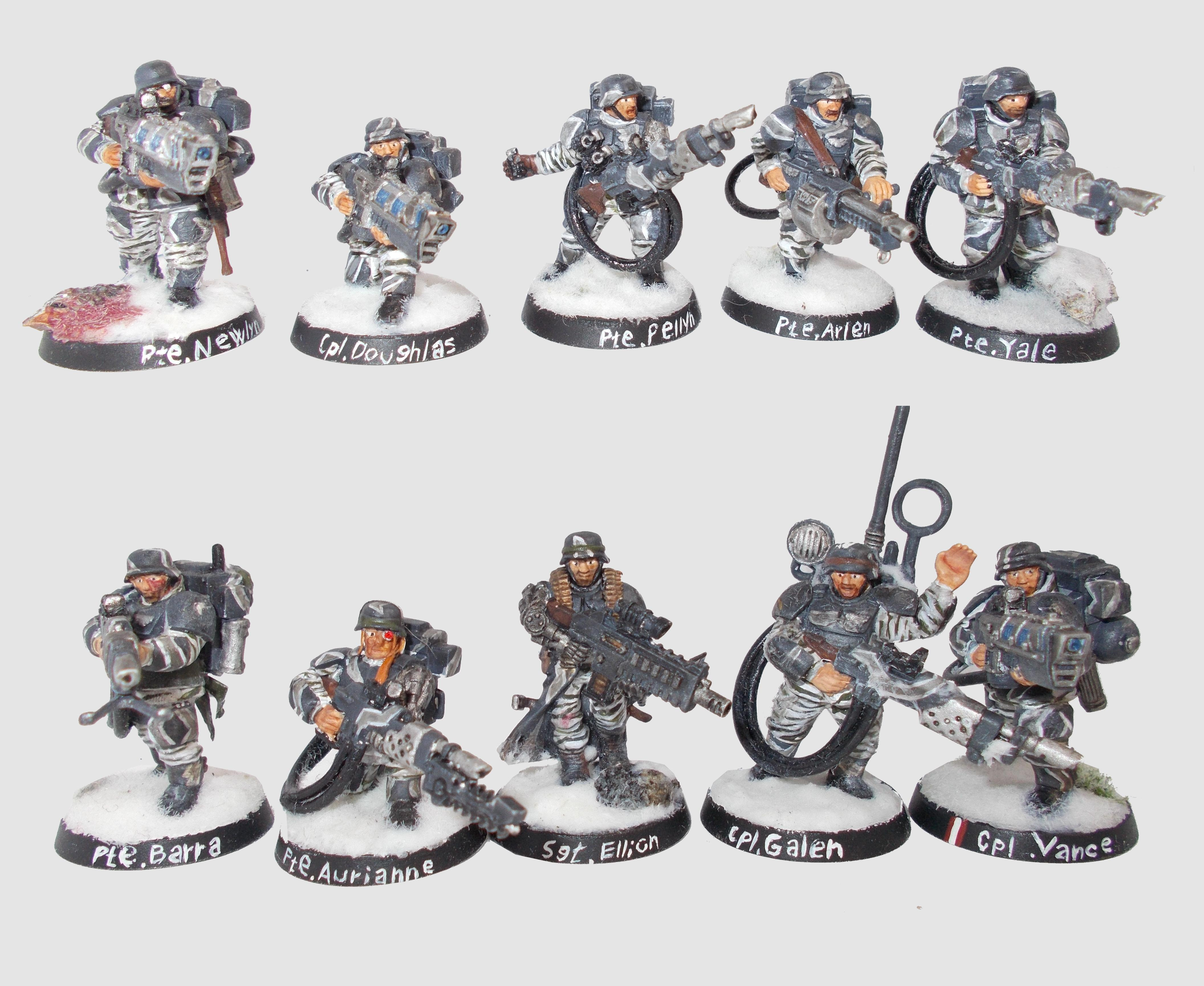 Imperial Guard, 1st Grenadier squad