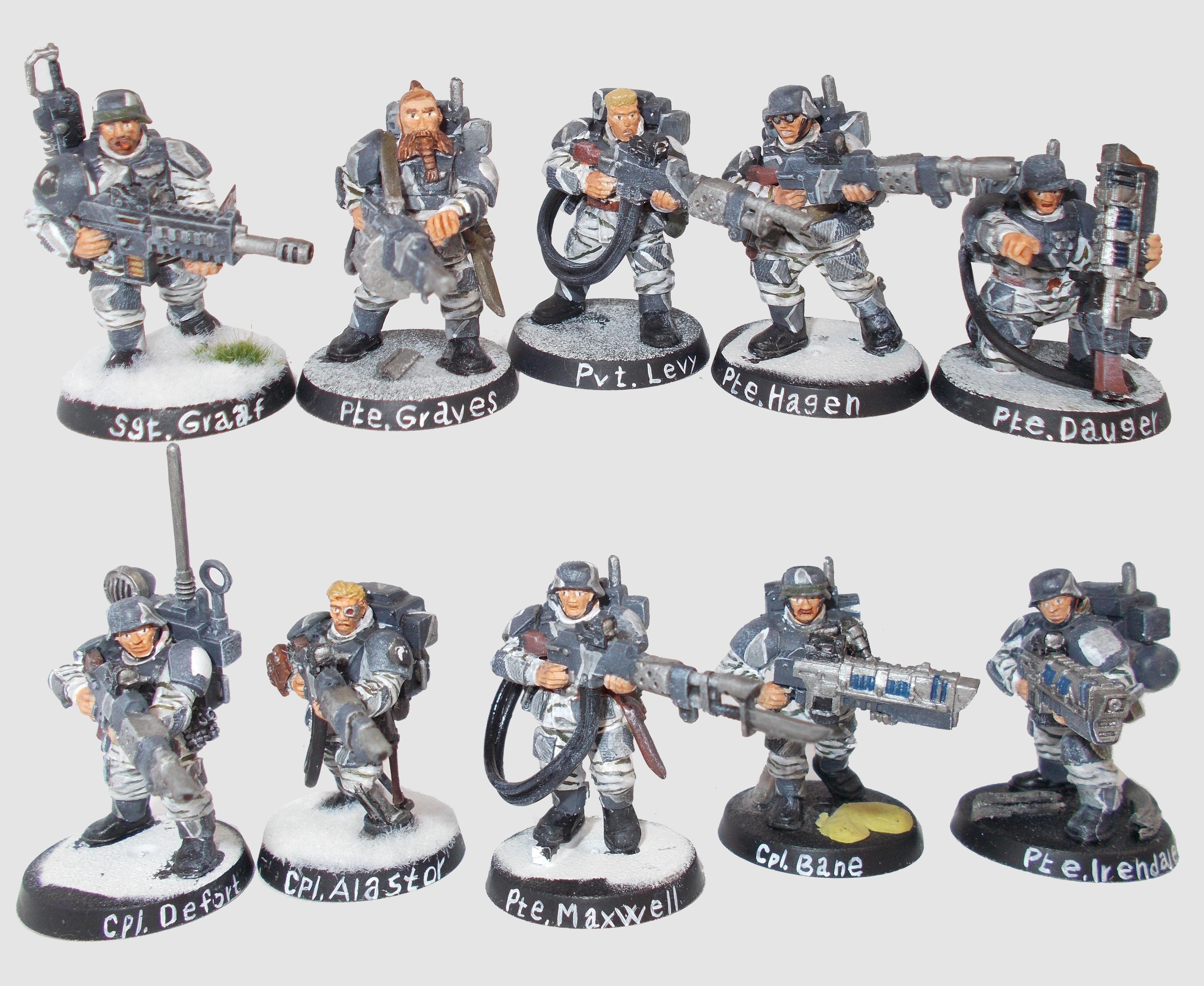 Imperial Guard, 2nd Grenadier squad
