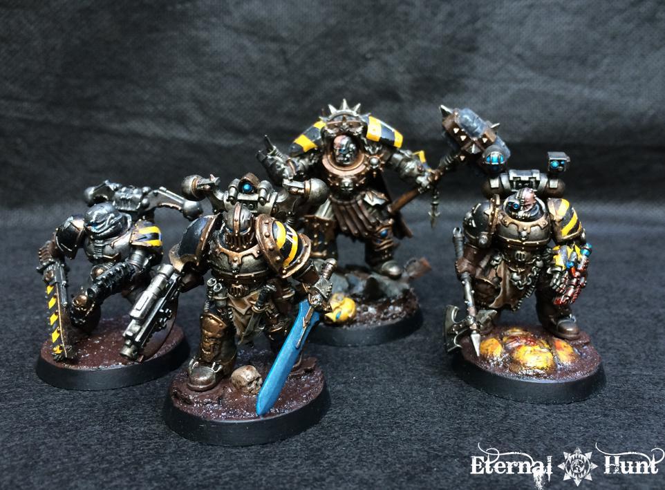 Apothecary, Chaos, Chaos Space Marines, Conversion, Iron Warriors, Killteam, Kitbash, Warhammer 40,000