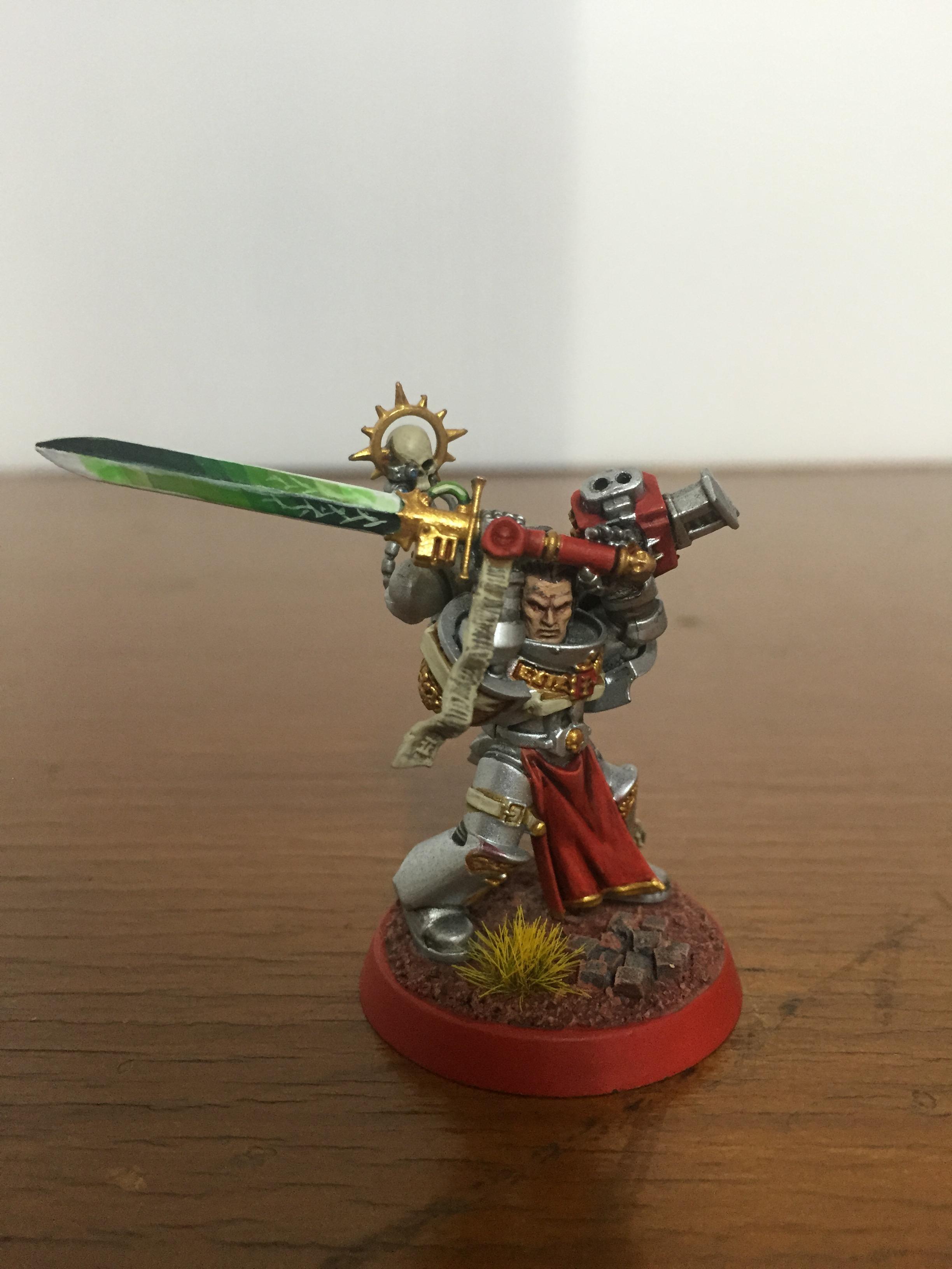 Grey Knights, Justicar, Strike Squad