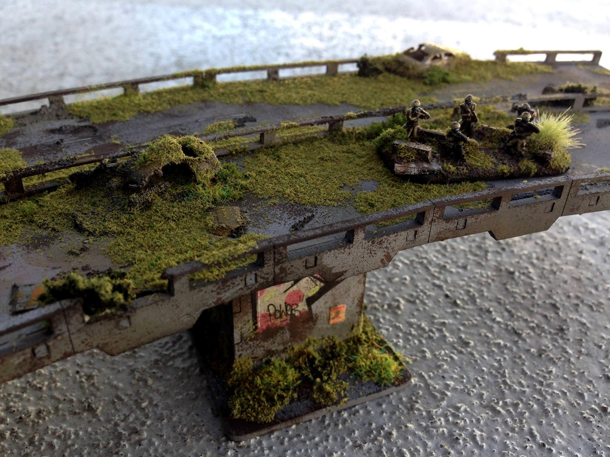 Abandoned, Bridge, Dropzone, Dzc, Moss, Overgrown, Overpass, Road, Terrain