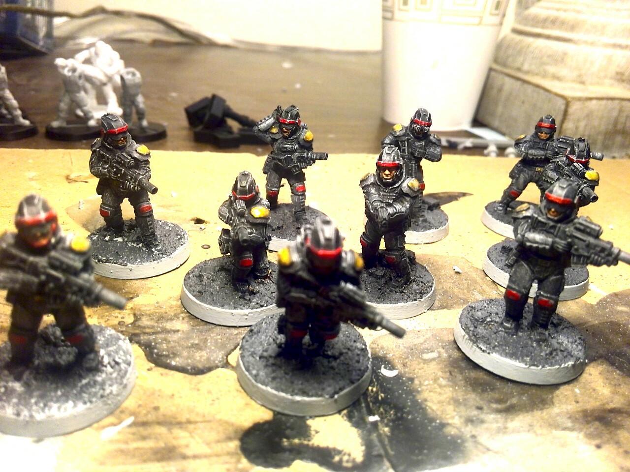 Anvil, Anvil Industries, Dredd, Executioner, Imperial Guard, Judge Dredd, Puppetswar, Unity Council Marines