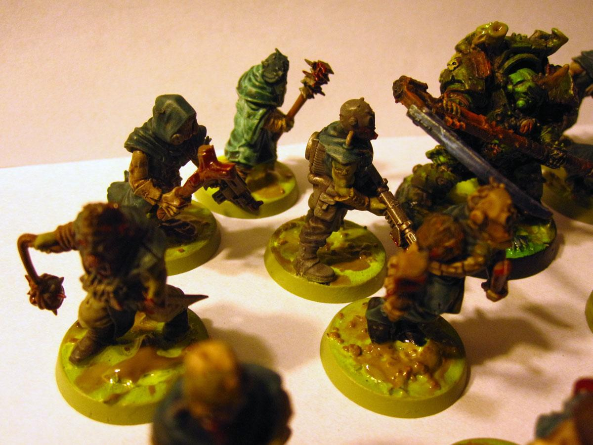 Plague Zombies, Cultist zombies with Typhus