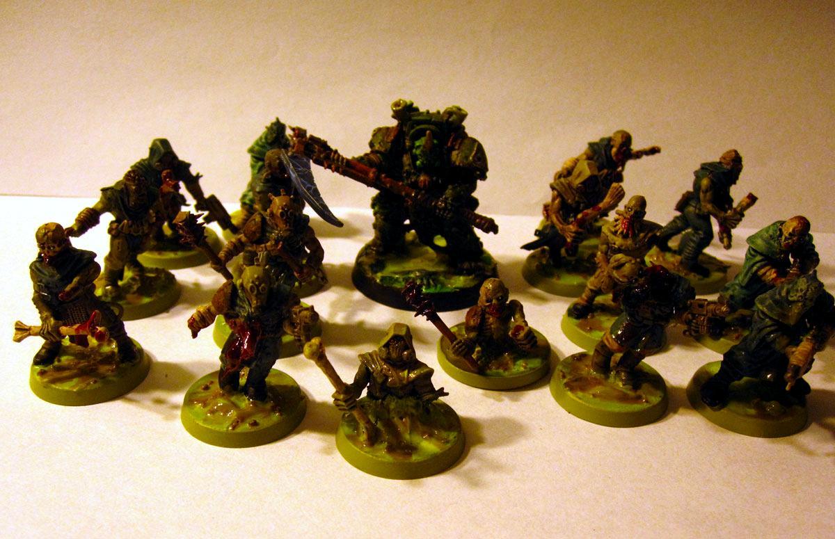 Plague Zombies, Typhus, Zombie
