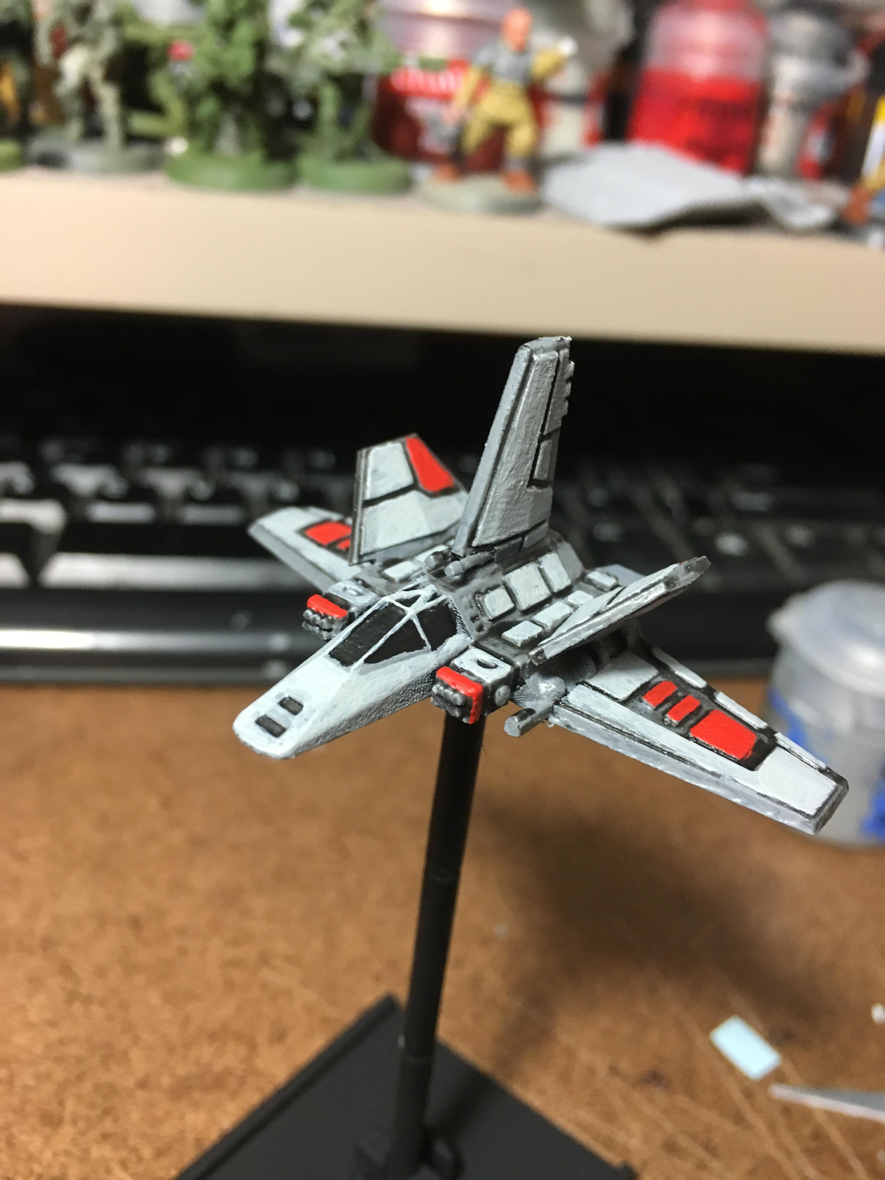 Assault Gunboat, X-wing