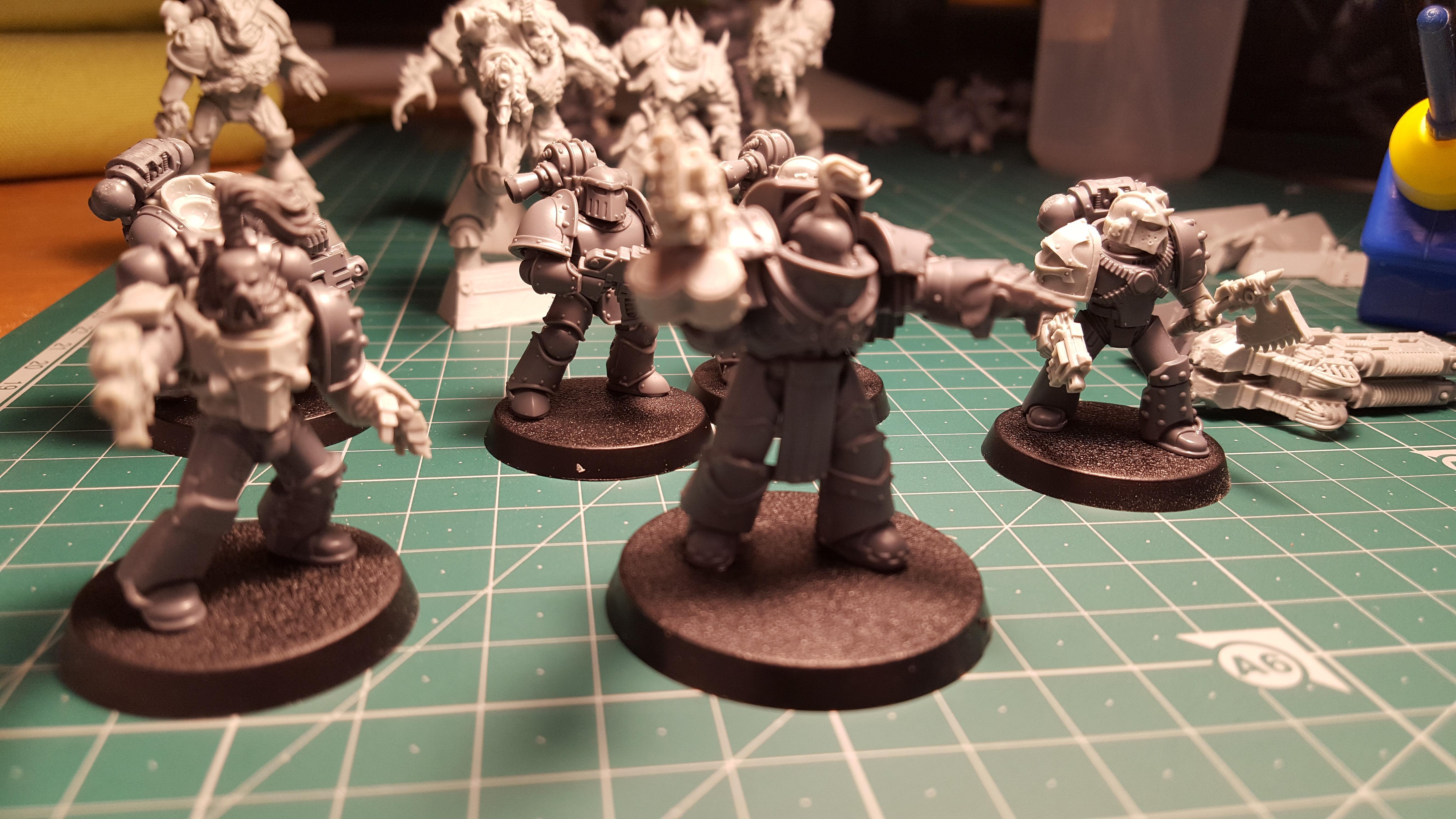 Sons of Horus tac squad