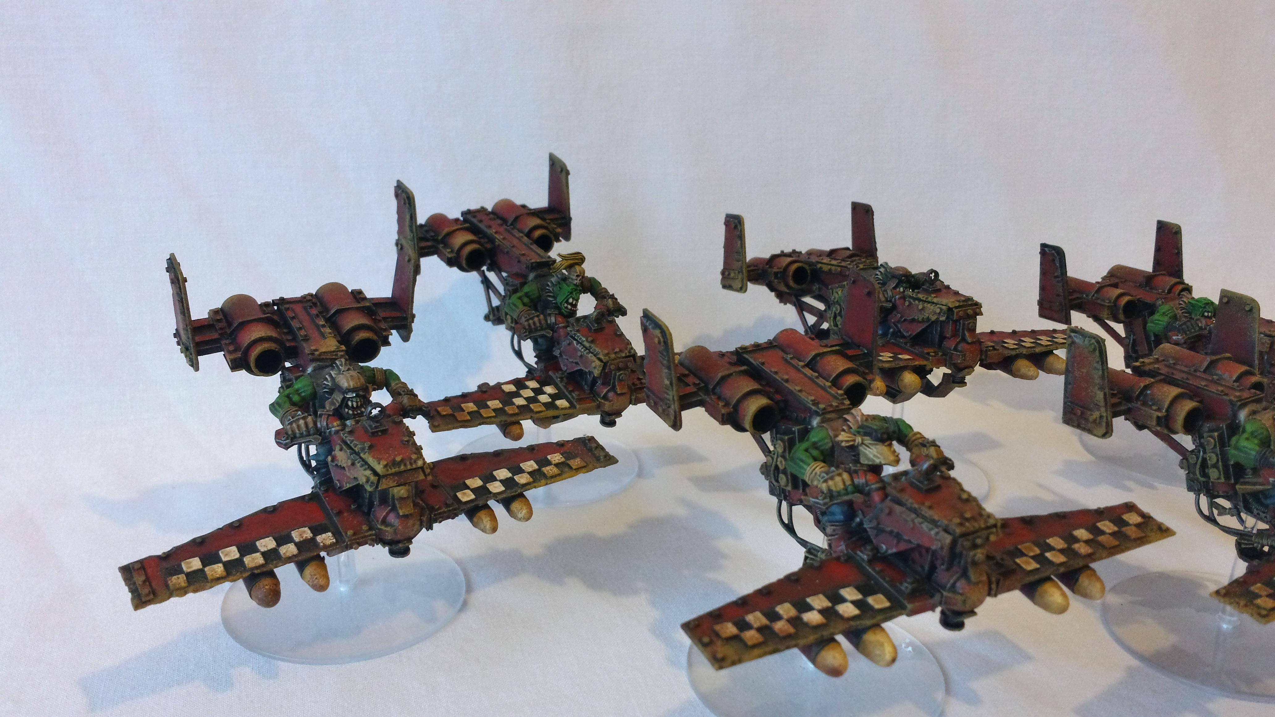 Conversion, Deffkopta, Flyer, Jetbike, Orks
