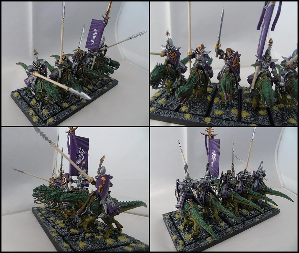Cold Ones, Dark Elves, Dread Elves, Dread Knights, Knights, Lance, T9a, The Ninth Age