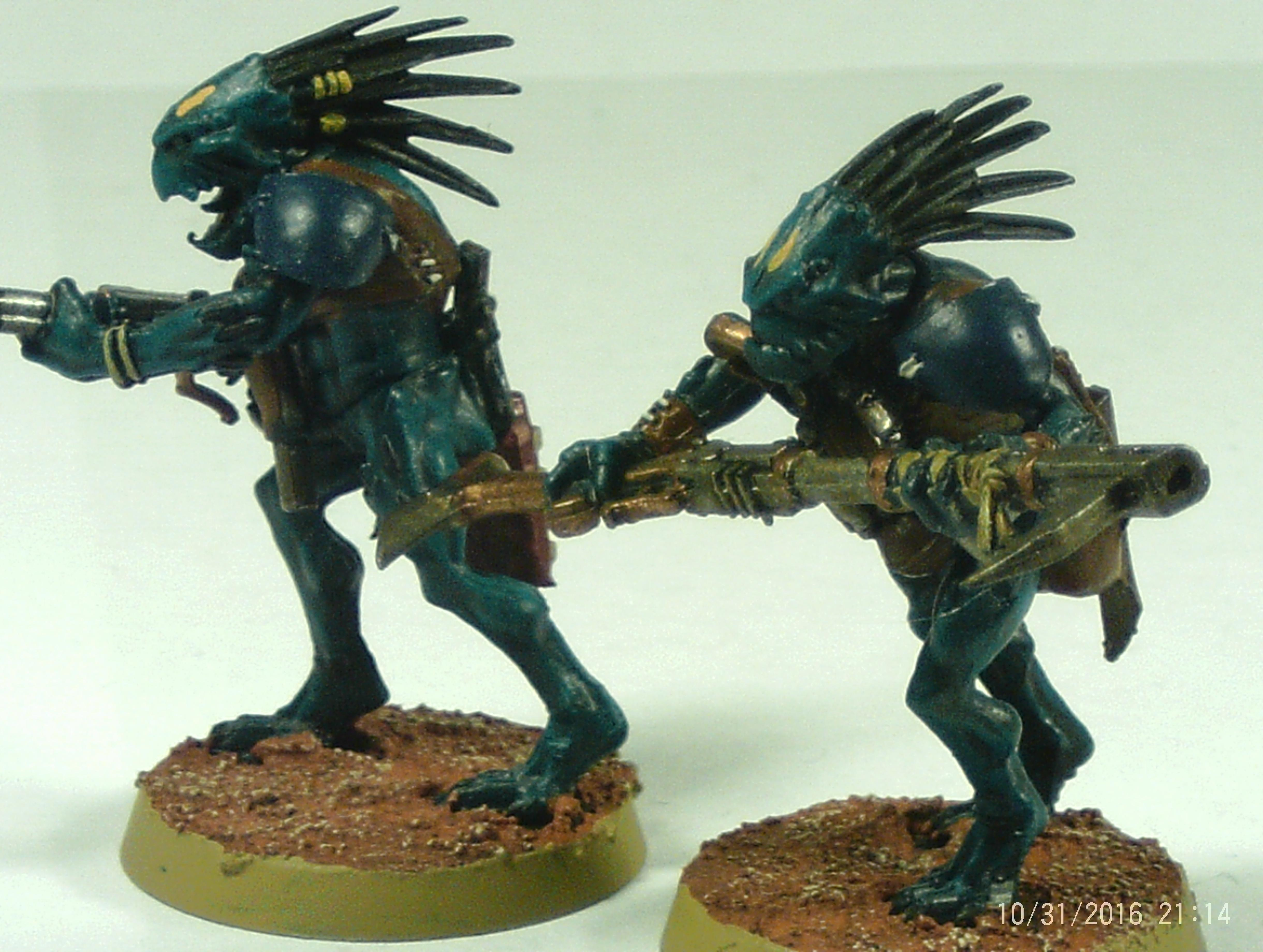 Alien, Auxiliary, Carnivore, Fire, Kroot, Pulse, Snipers, Tau, Warriors