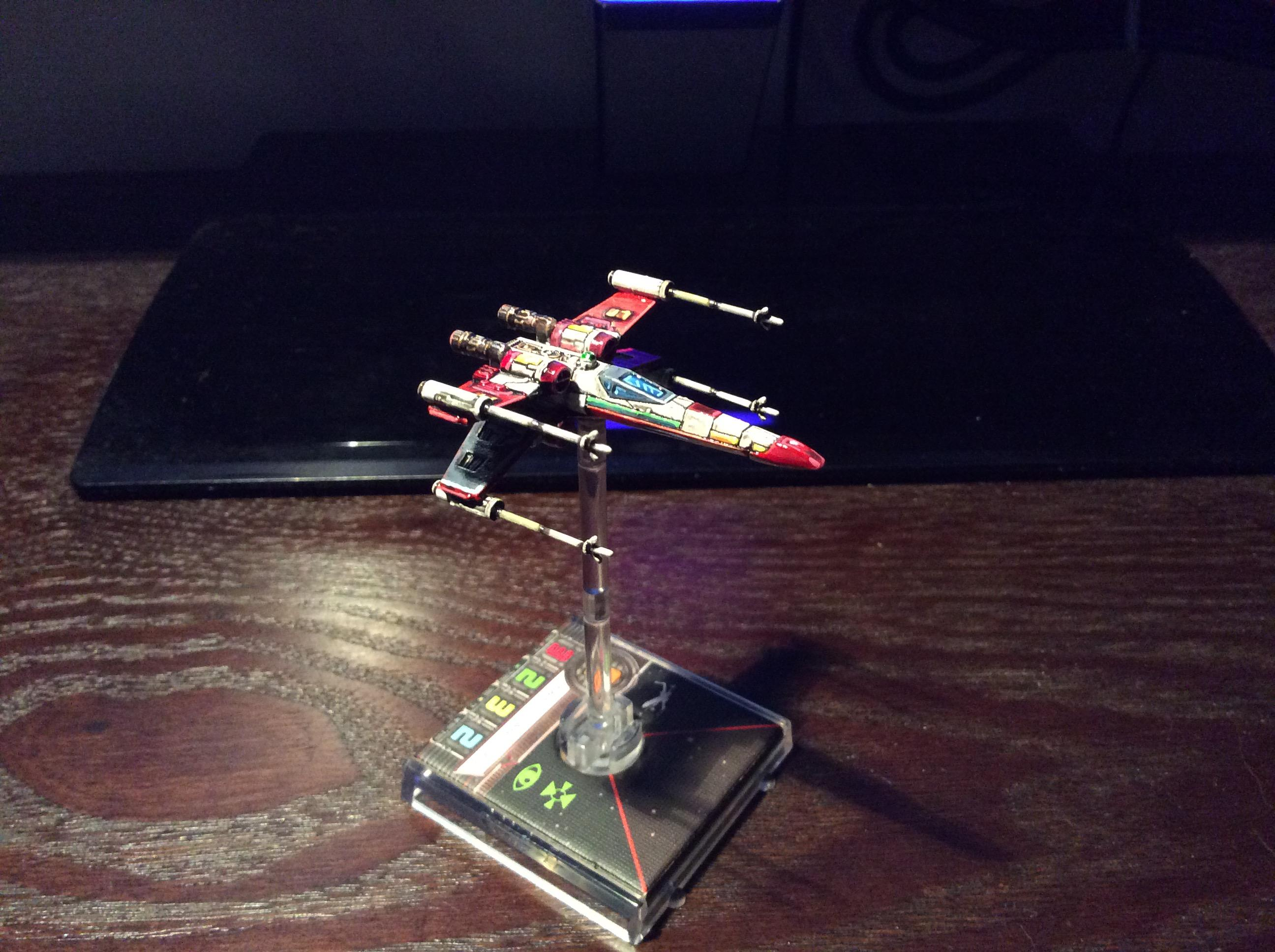 1/270 Scale, Jaffamaster, Repaint, X-Wing