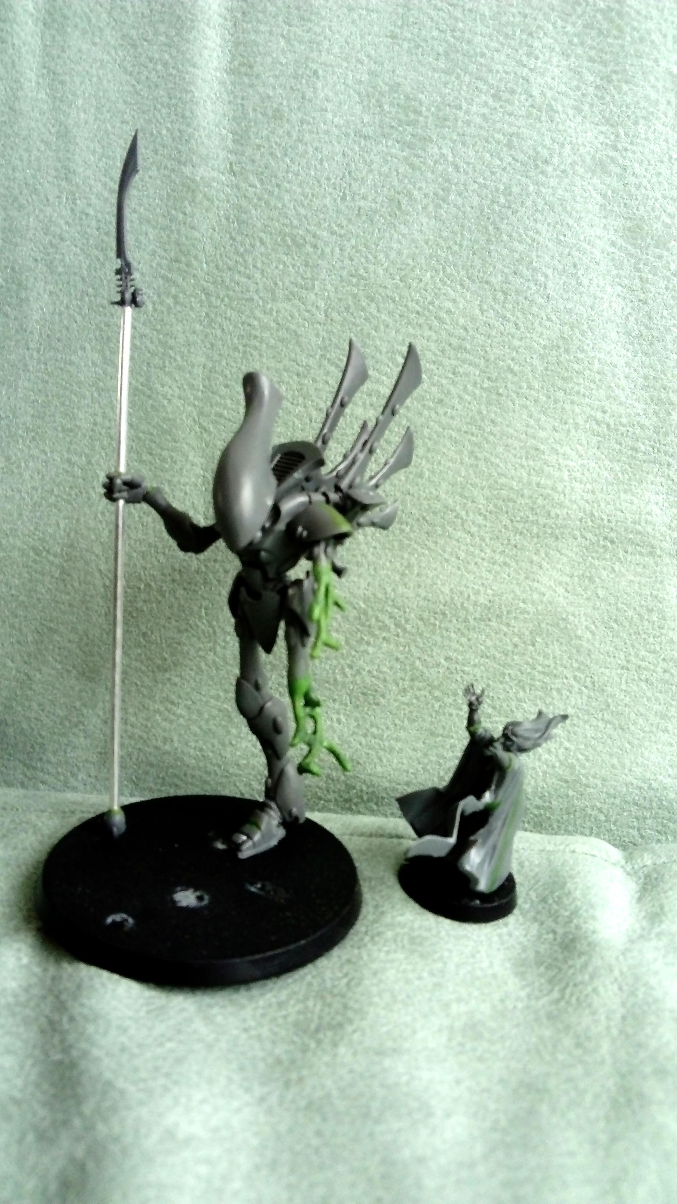 Bonesinger, Casualty, Eldar, Work In Progress, Wraithbone, Wraithlord