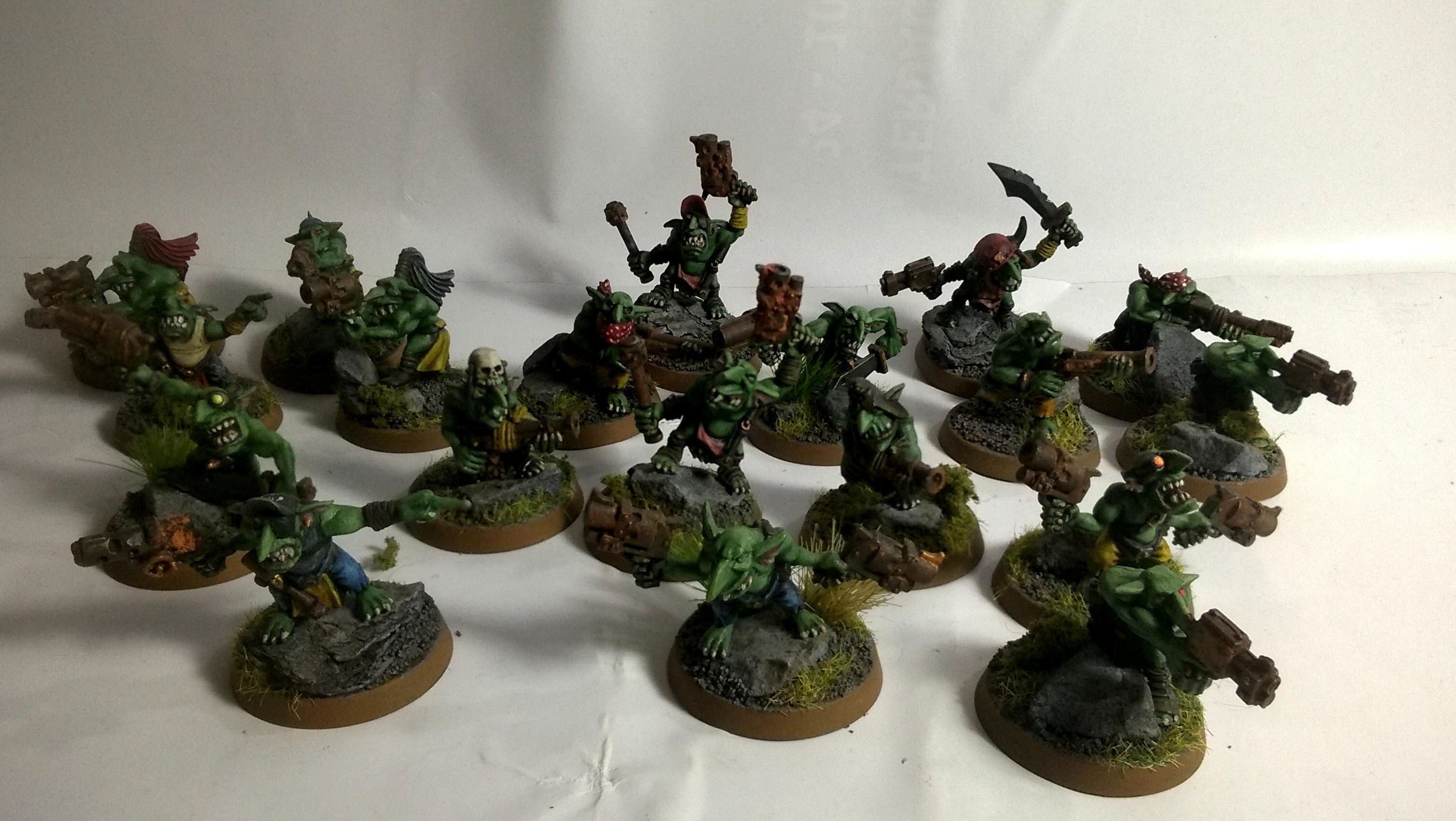 Gretchin, Merlin, Orks