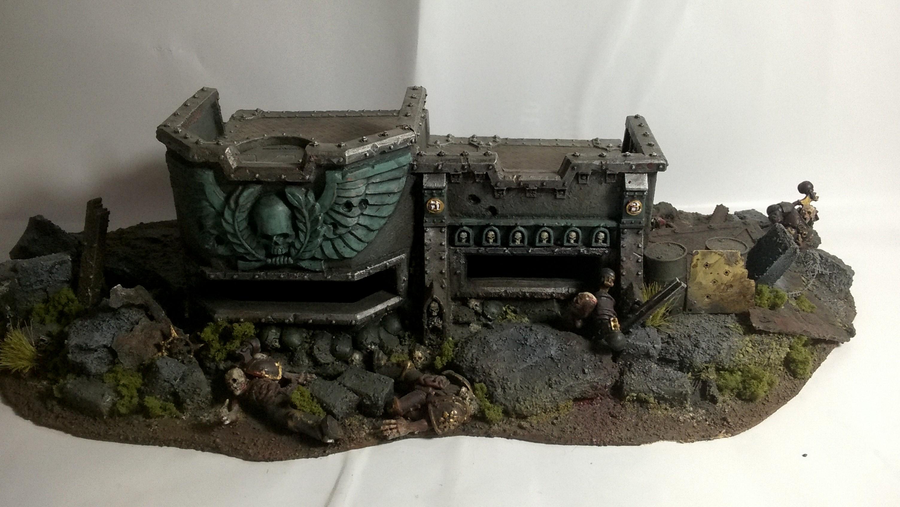 Bunker, Merlin, Terrain