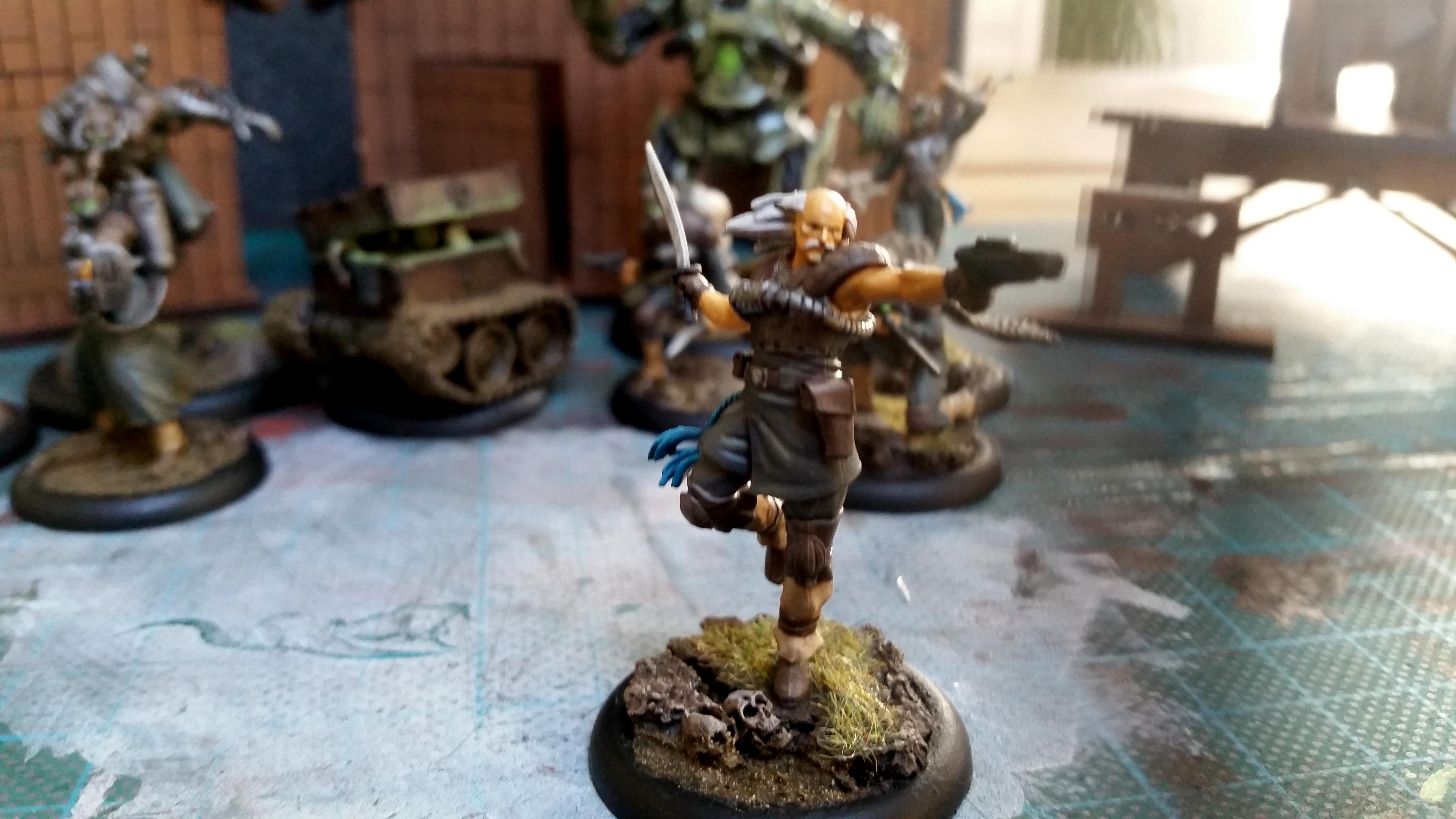 Freikorps, Malifaux, Outcast, Von Schill