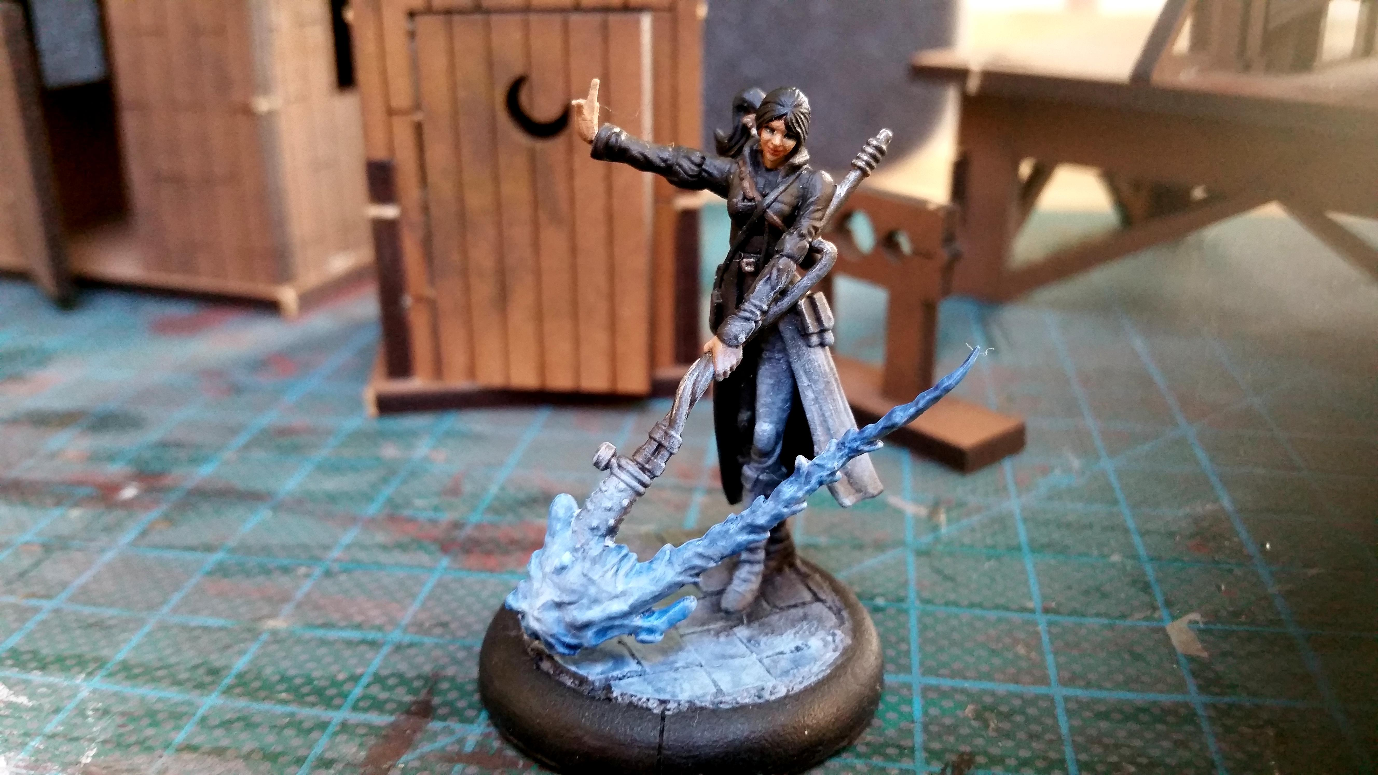 Malifaux, Outcast, Sisters Of Battle, Viktoria Of Ashes