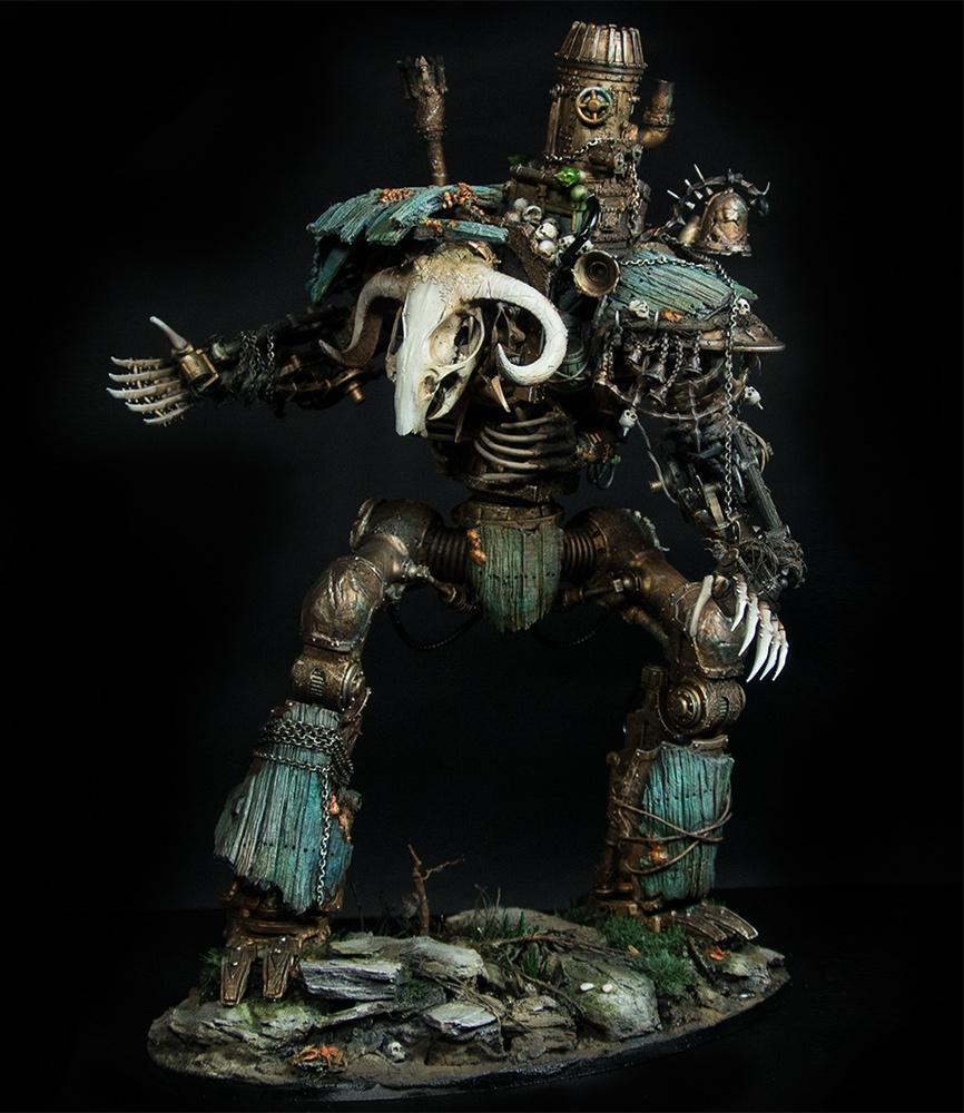 Age Of Sigmar, Daemons, Skaven, Vermin Lord, Verminlord