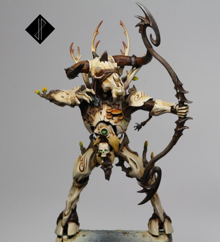 Archers, Bones, Construct, Dryad, Fungus, Minotaur, Mushroom, Nature, O'keefe, Skull