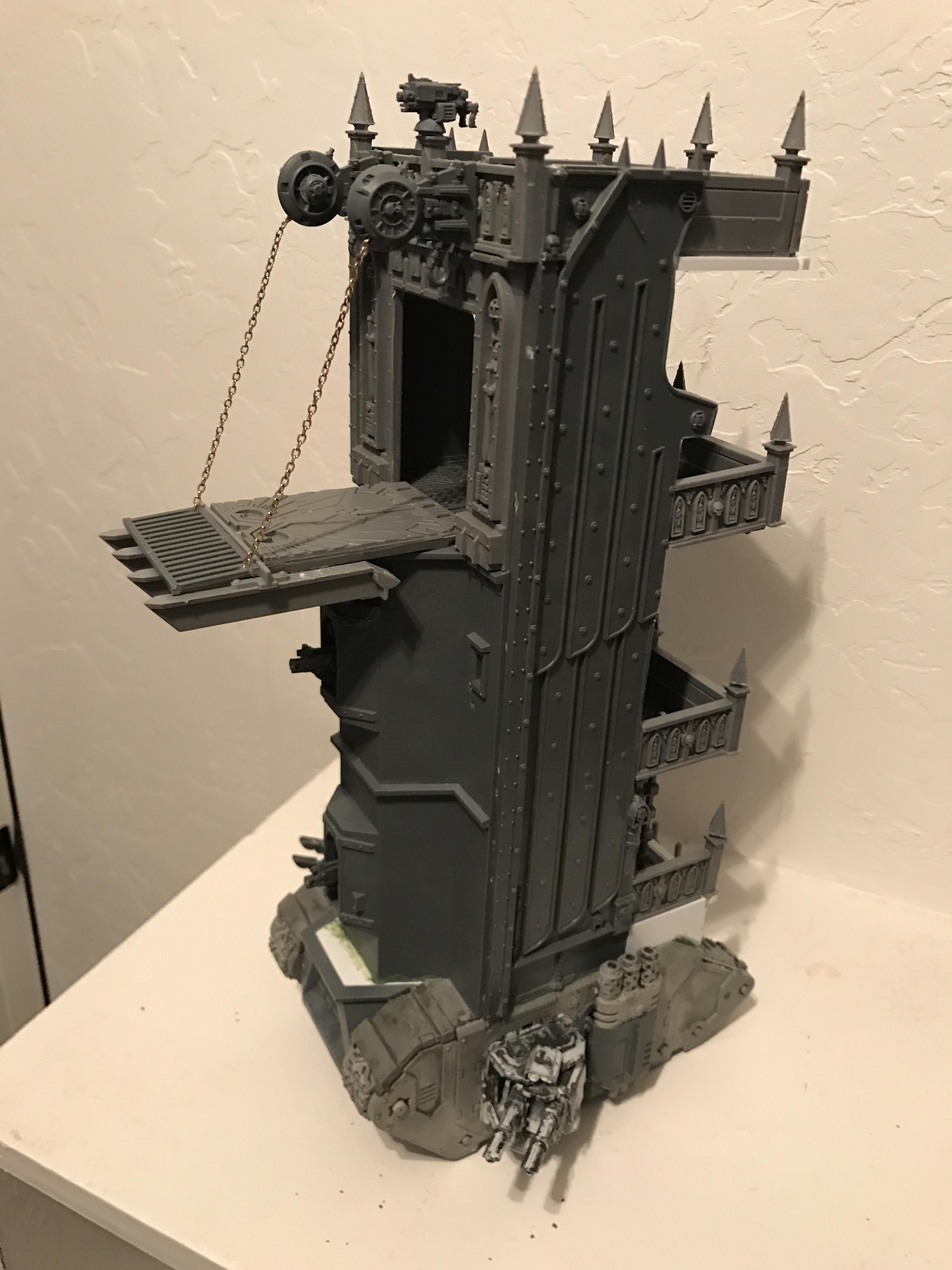Land Raider, Siege Tower