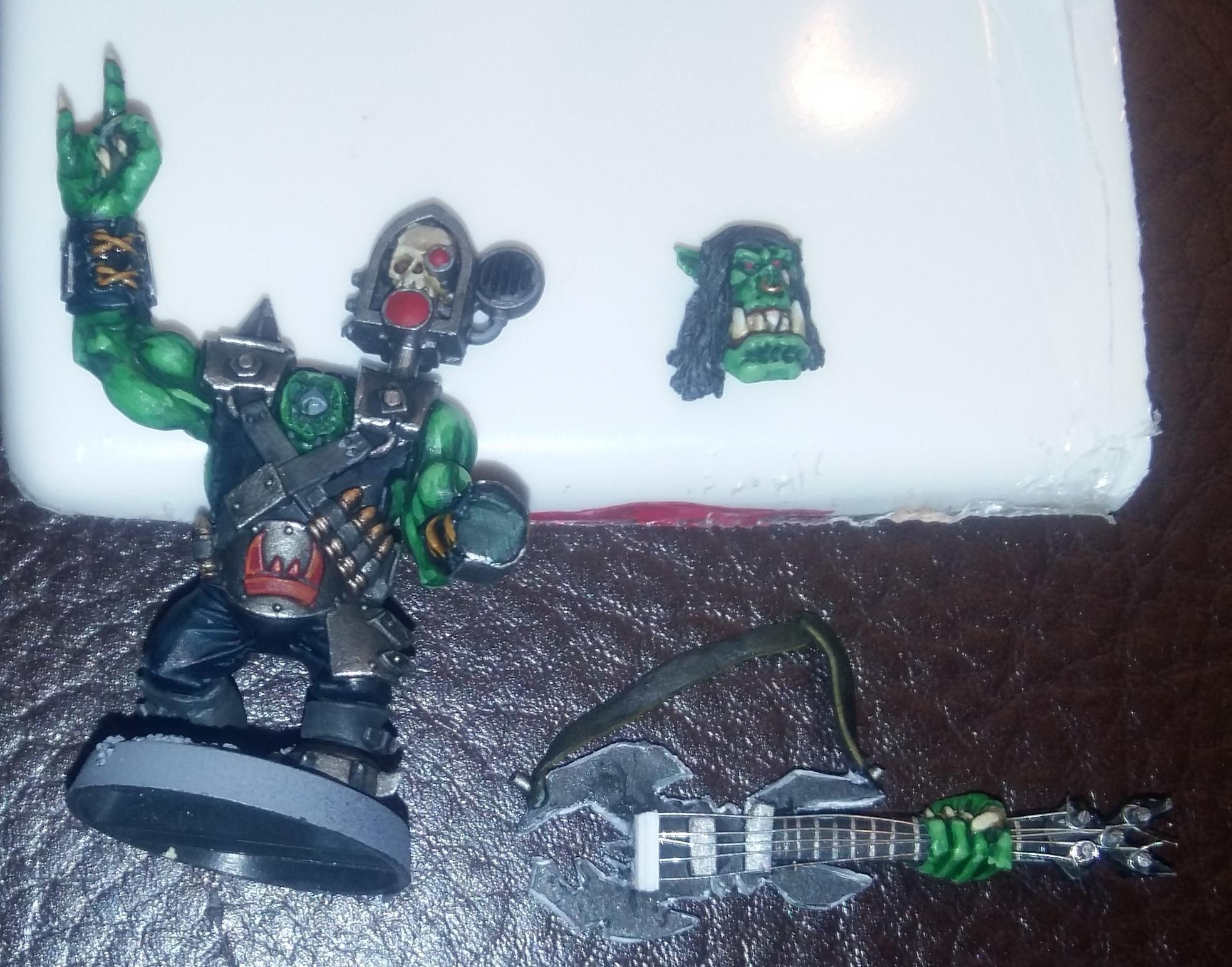 Guitar, Heavy Metal, Heavy Metal Ork, Orks