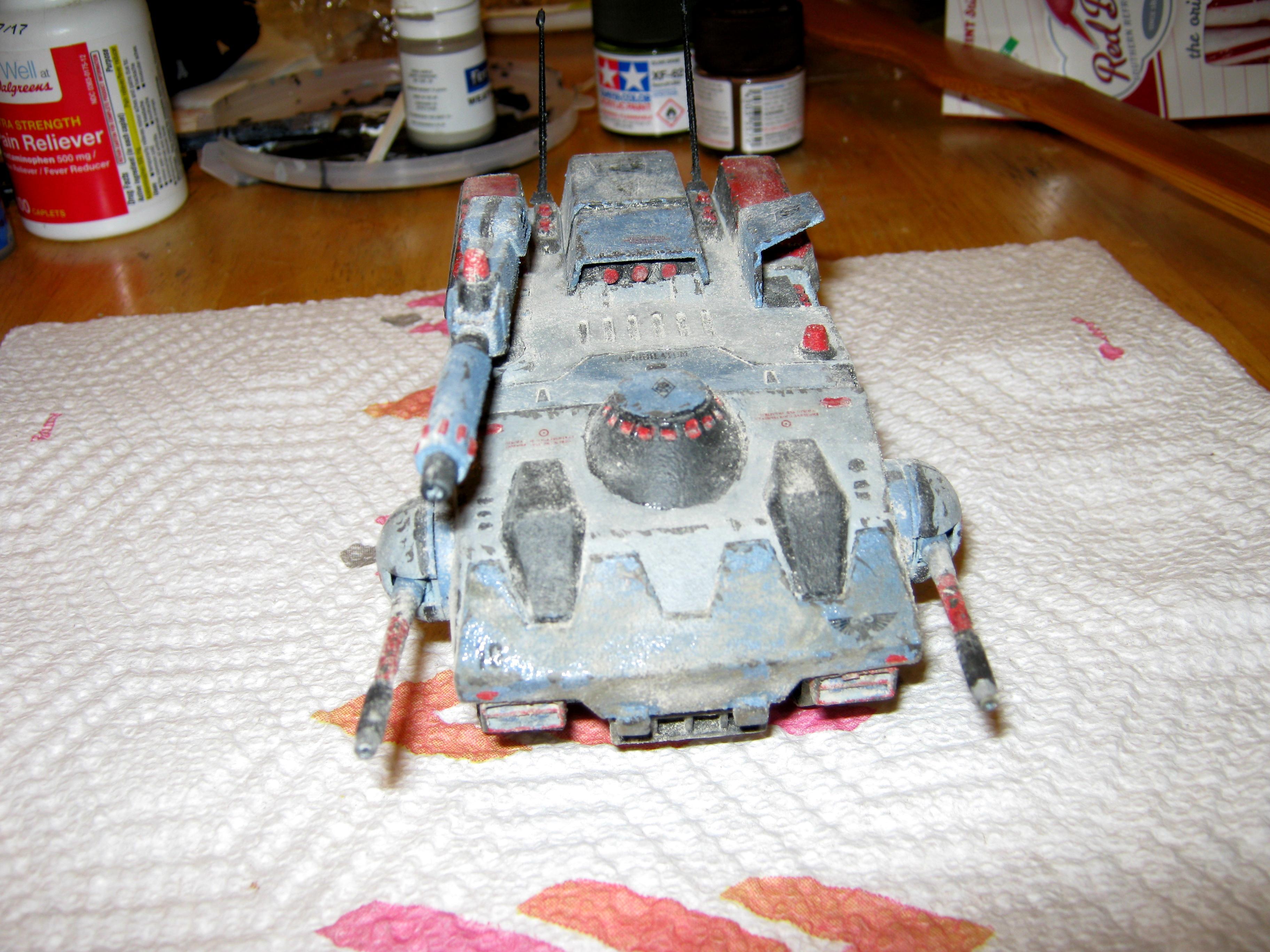 Anime, Conversion, Crusher Joe, Dark Age Of Technology, Galleon, Imperial, Tank
