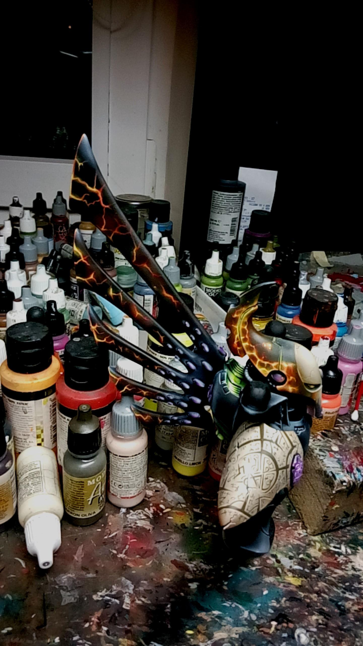 Commission, Eldar, Forge World, Titan, Work In Progress