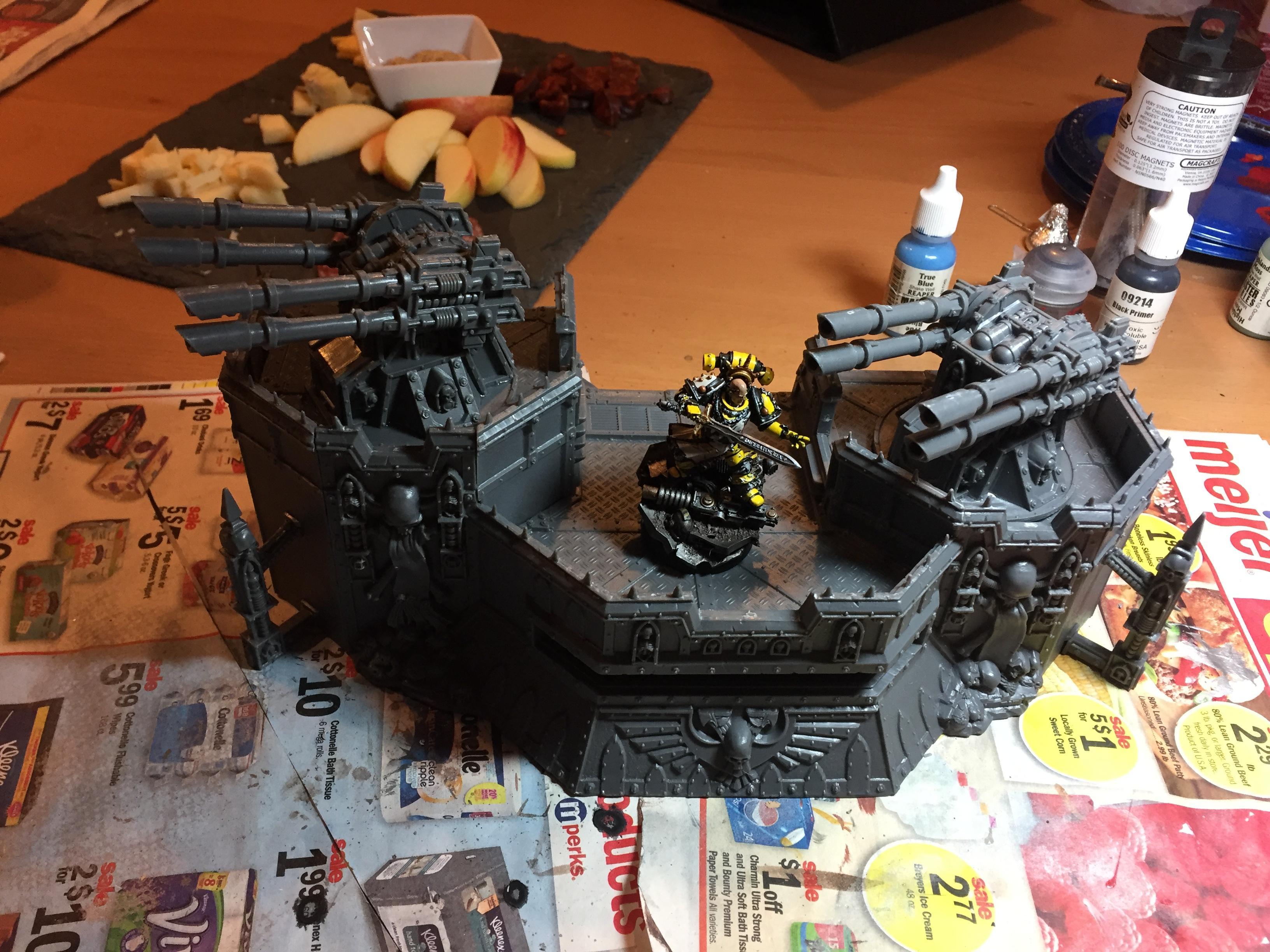 Firestore, Heresy, Imperial Fists, Redoubt, Sigi, Sigismund