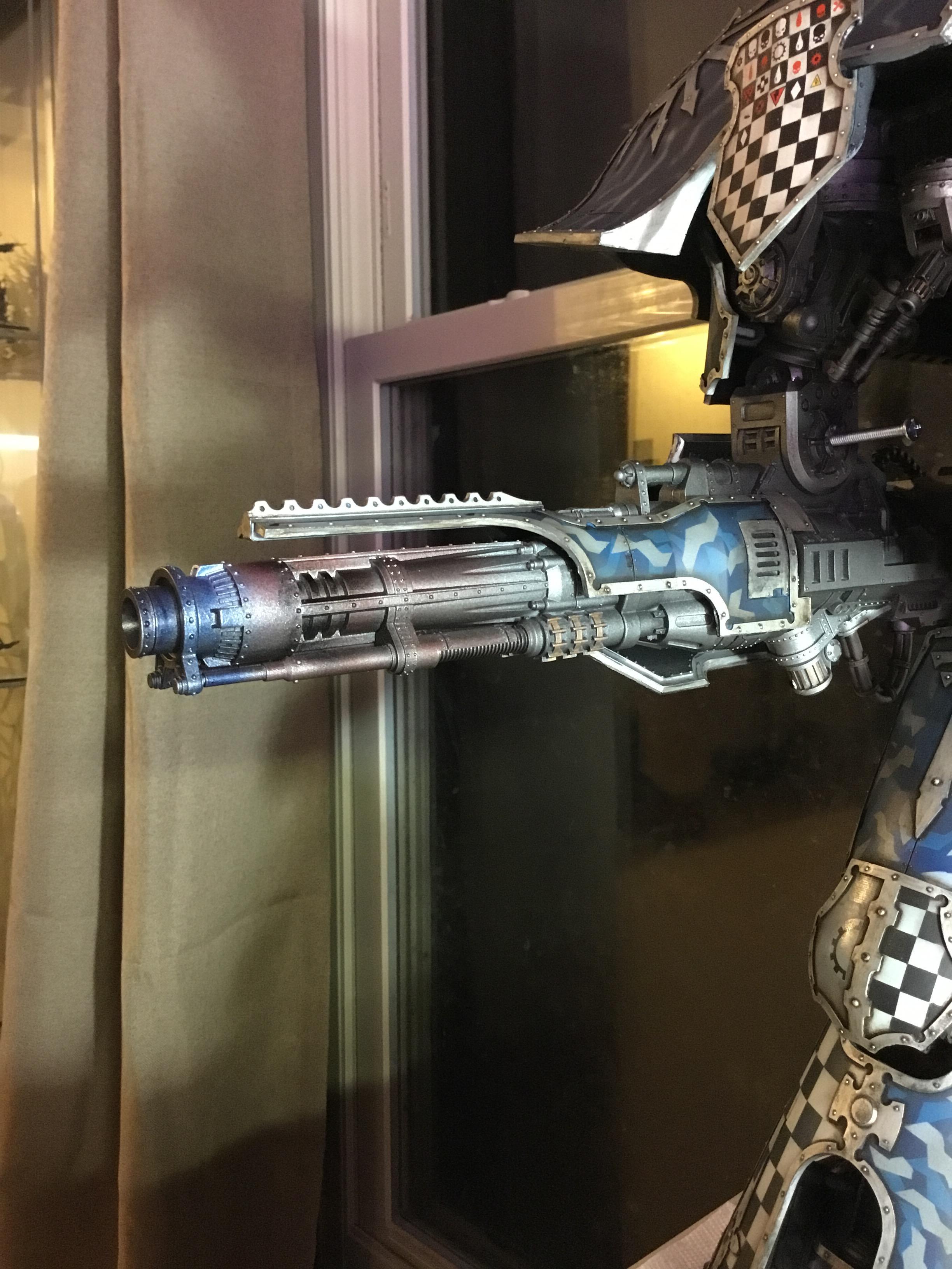 Closeup, Forge World, Titan, Warlord, Weapon