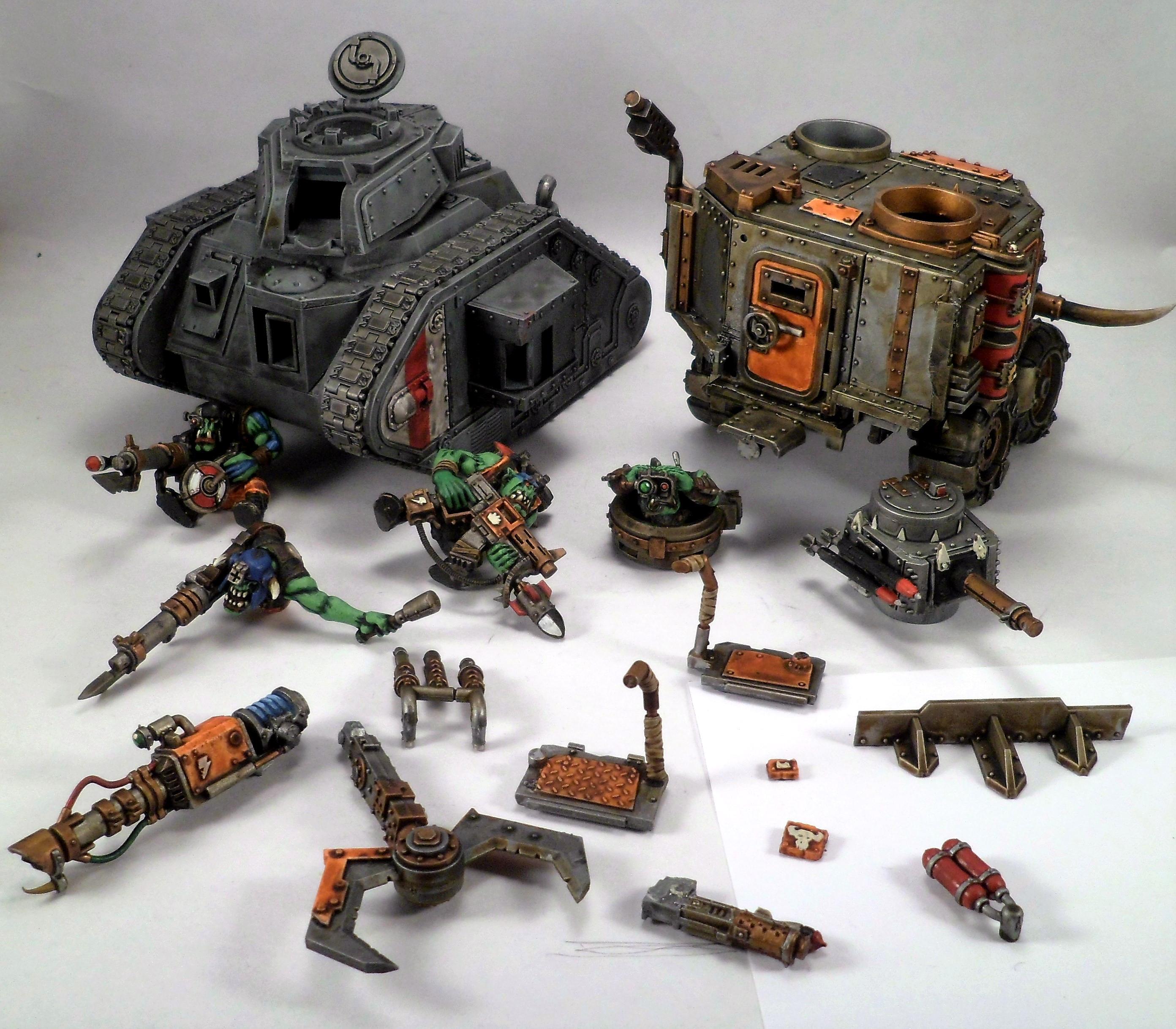 Battlewagon, Guard Abuse, Leman Russ, Looted, Looted Wagon, Tank
