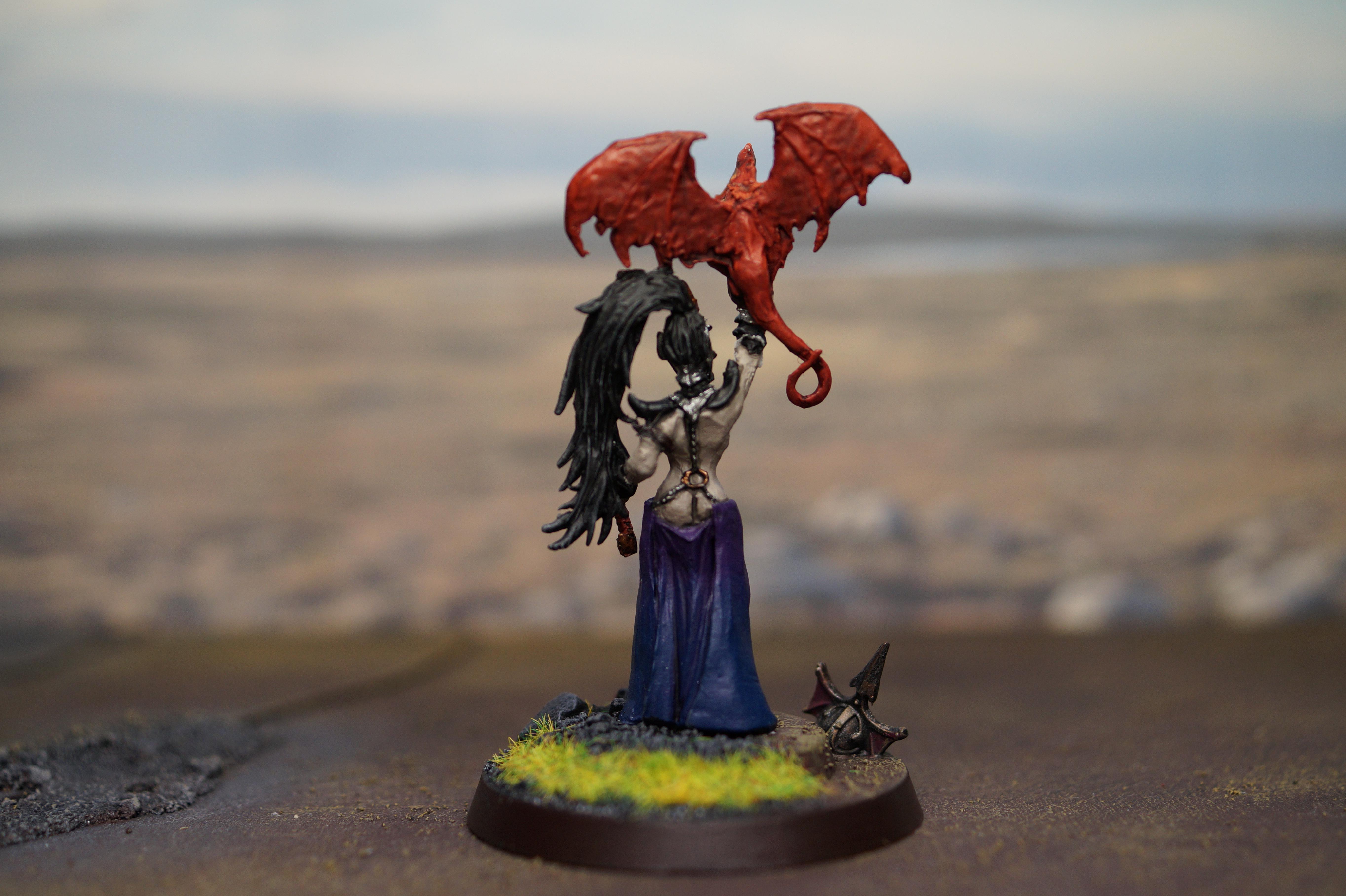 Age Of Sigmar, Dark Elves, Gift, Halloween, Sorceress