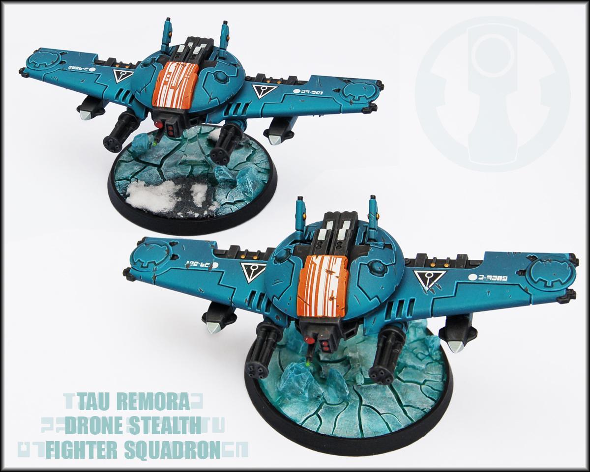 Conversion, Drone, Drone Fighter, Forge World, Remora, Tau, Tau Empire