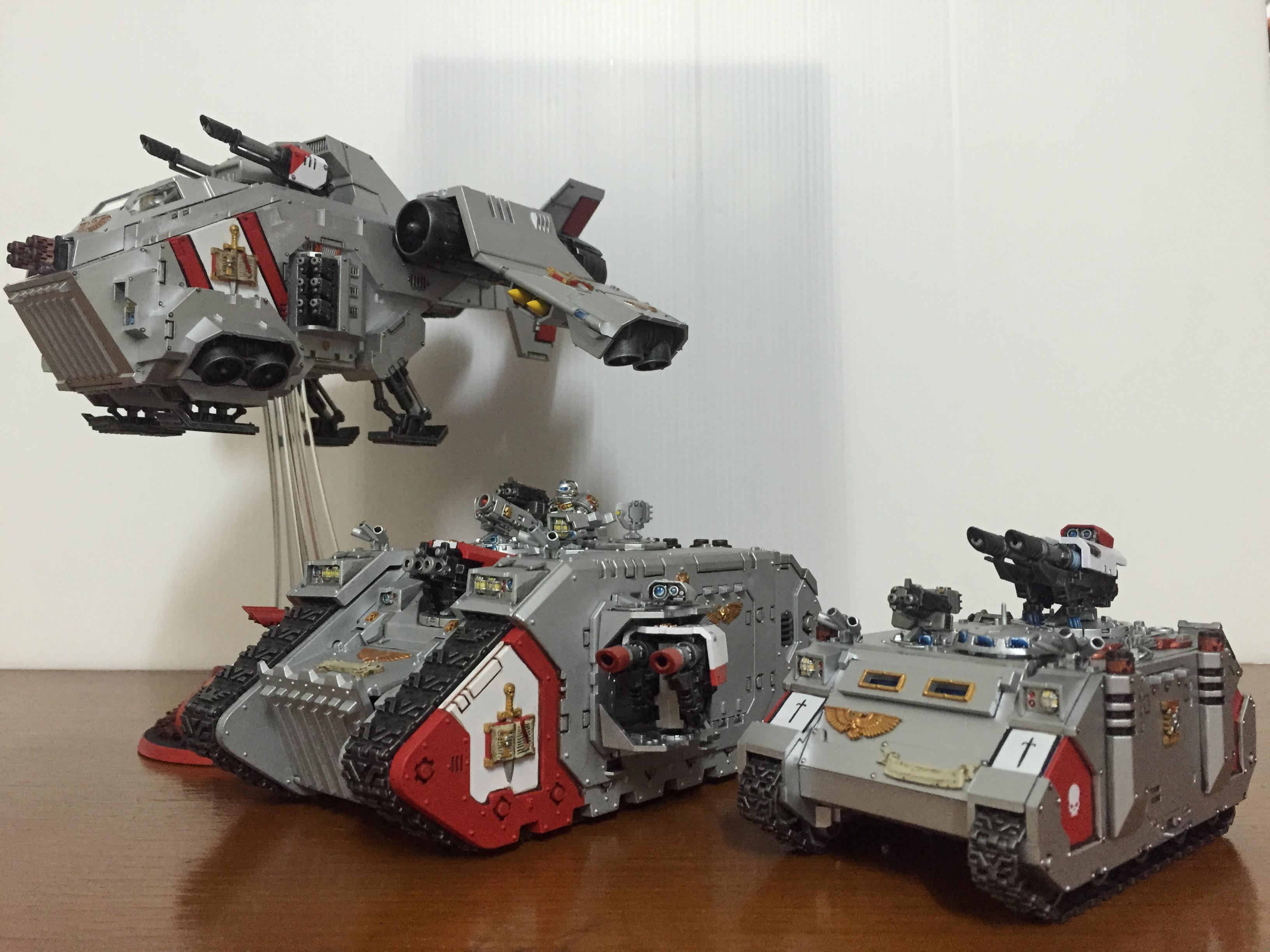 Grey Knights, Land Raider, Razorback, Stormraven