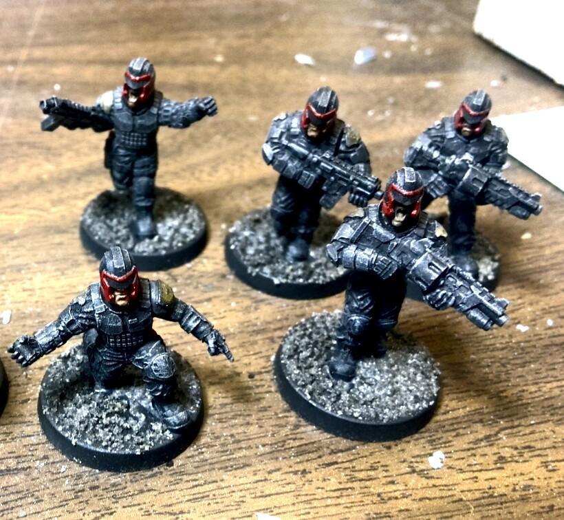 Anvil, Dredd, Executioner, Imperial Guard, Judge Dredd, Puppetswar