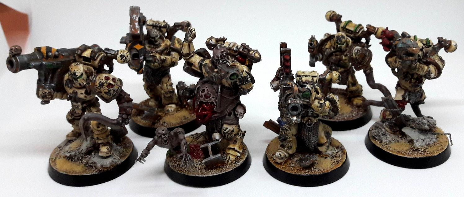 Conversion, Havoc, Nurgle, Nurgle Conversion, Plague, Space Marines