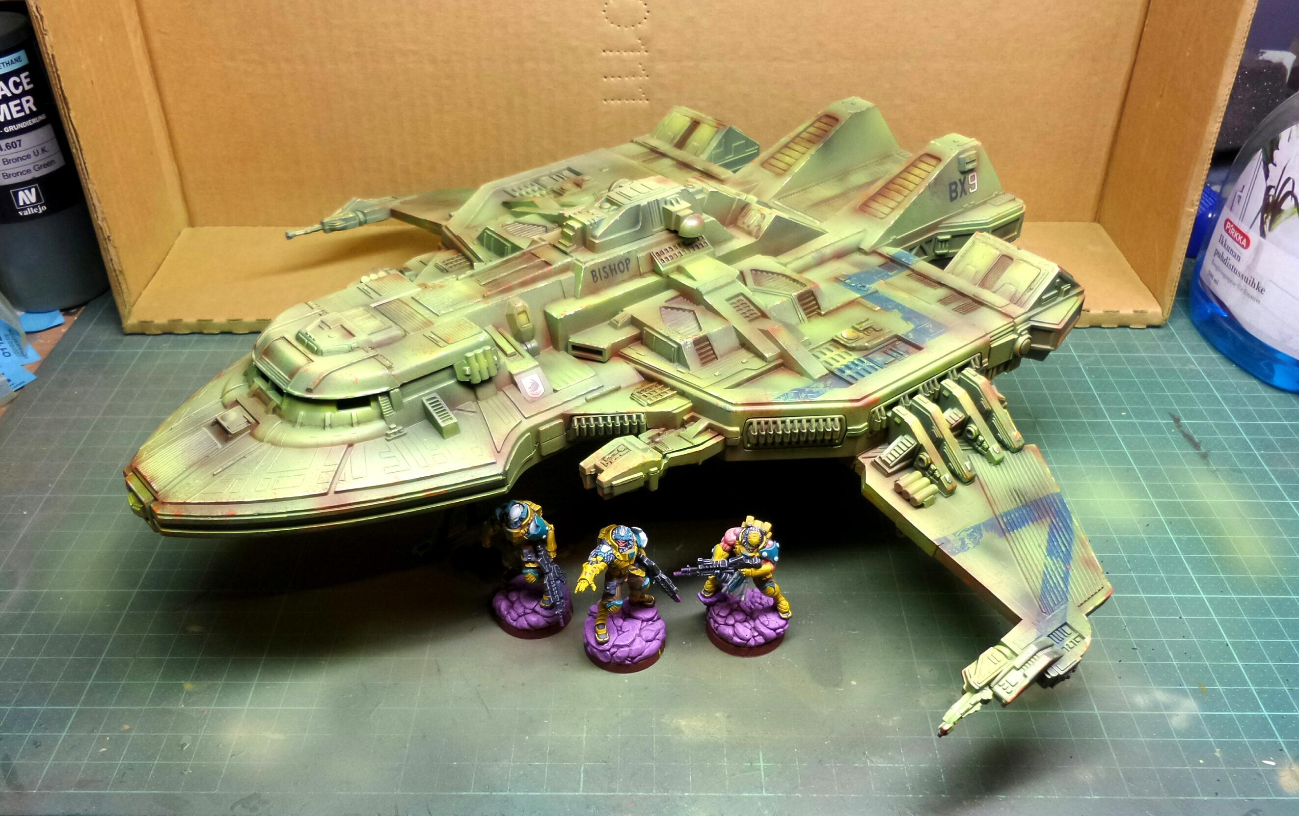 Drop Ship, Maquis, Marquis, Shuttle, Star Trek