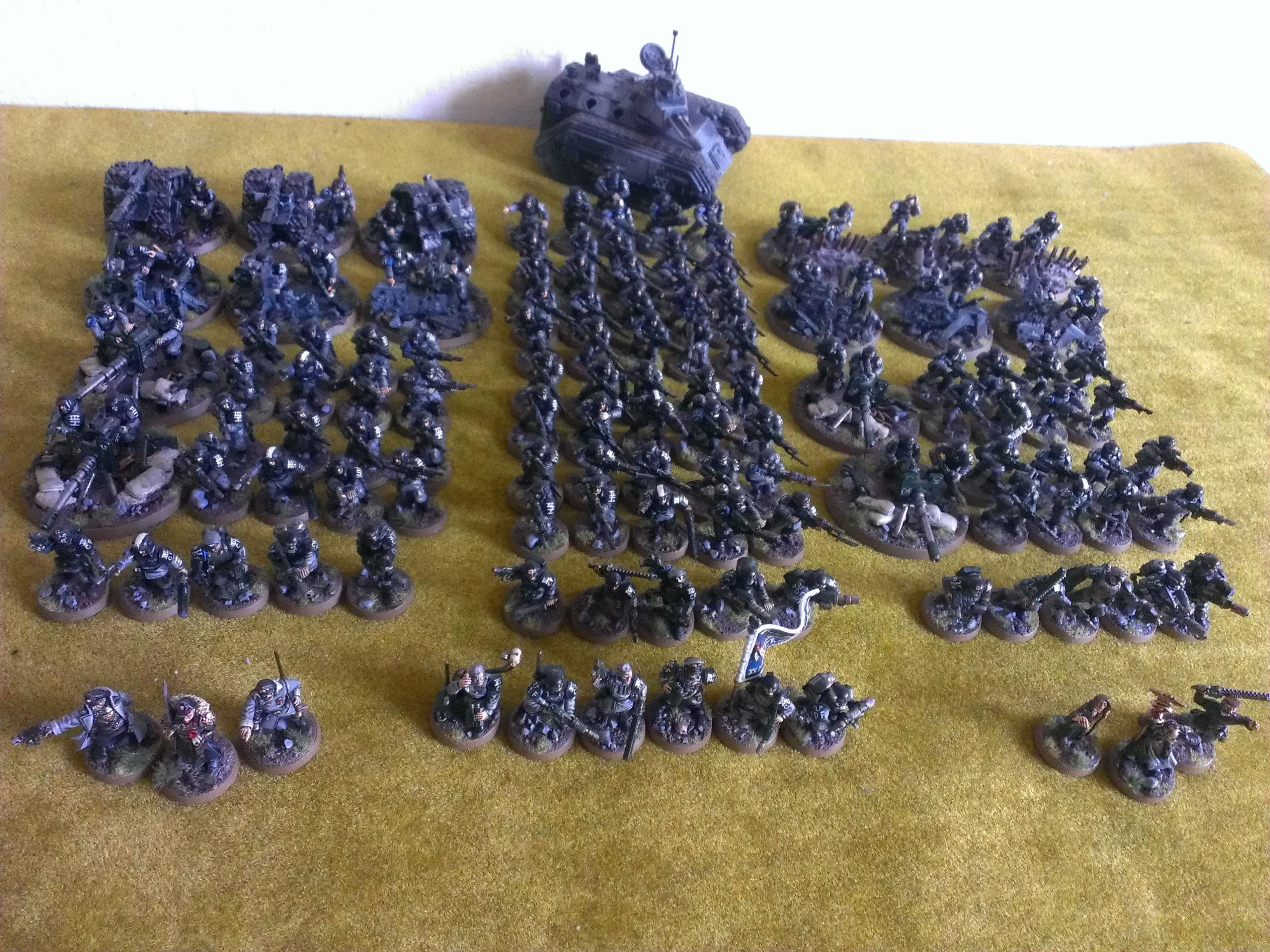 Army, Company, Fully Painted, Imperial Guard, Pdf