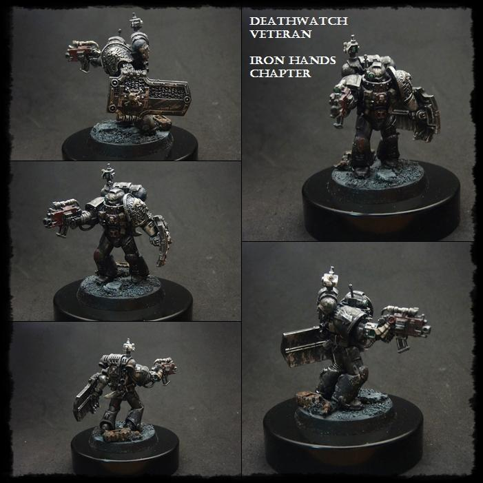 Deathwatch, Kill Team, Space Marines, Veteran, Warhammer 40,000, Weathered
