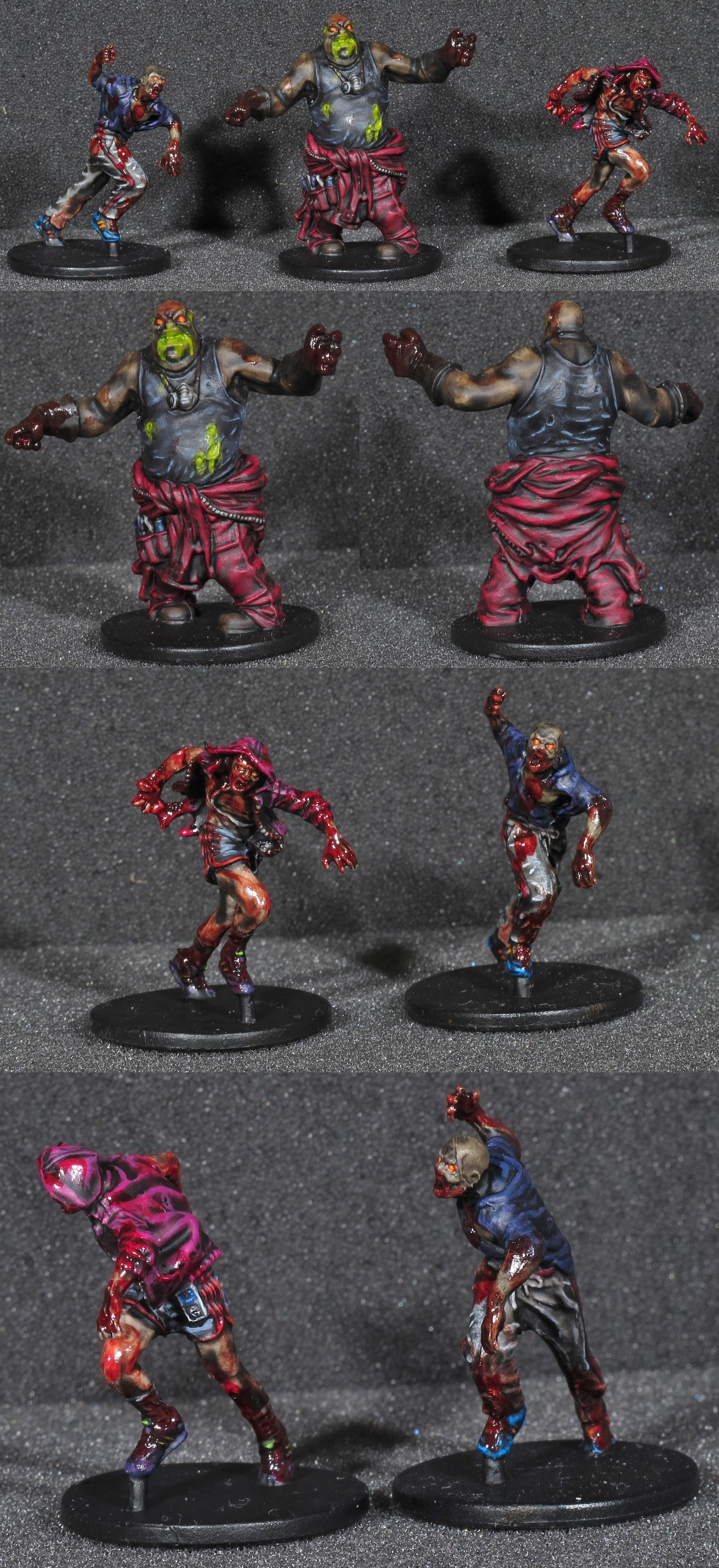 Boardgame, Fatty, Gore, Runners, Toxic, Undead, Zombicide, Zombie