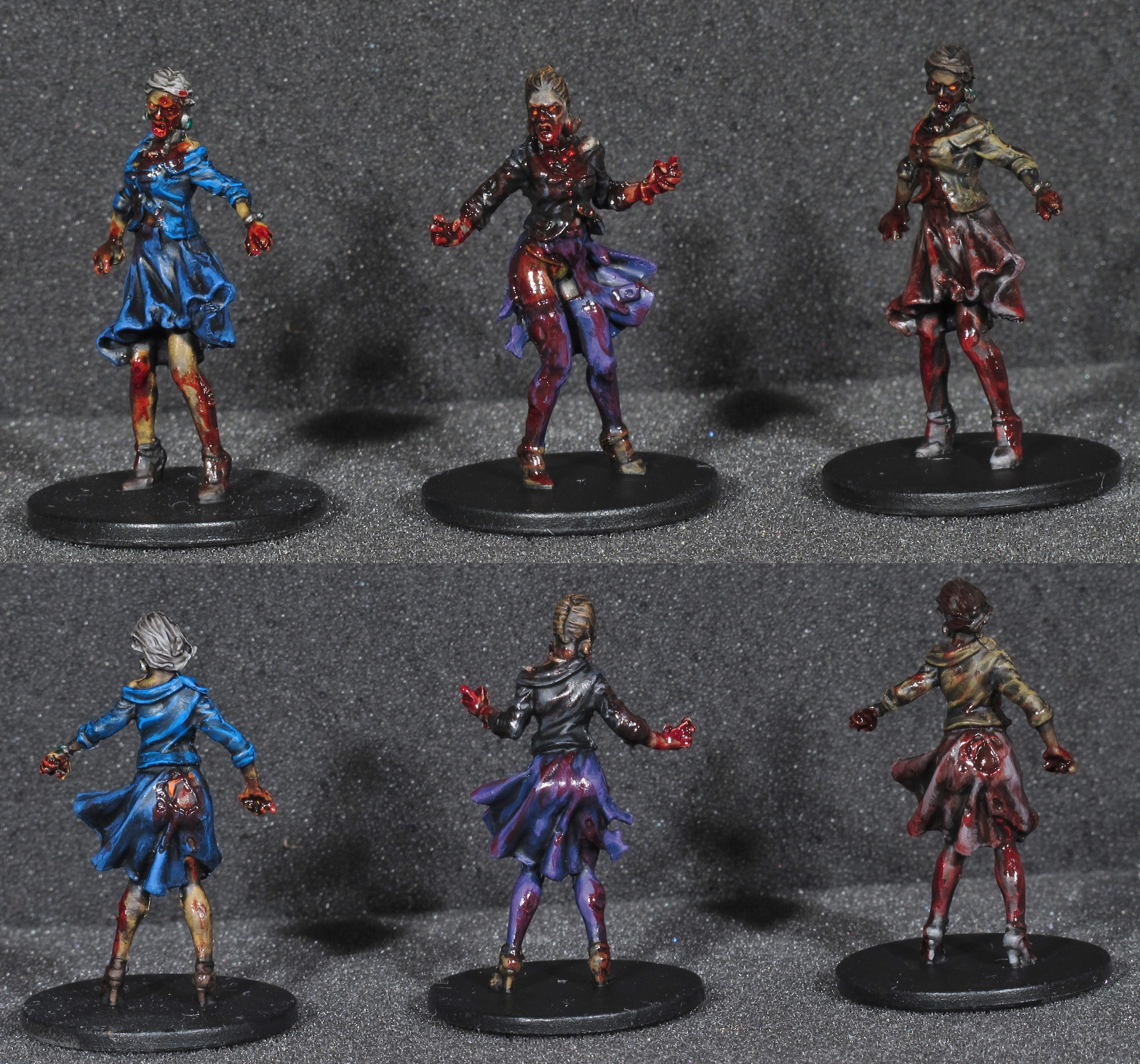 Boardgame, Female, Gore, Undead, Walkers, Zombicide, Zombie