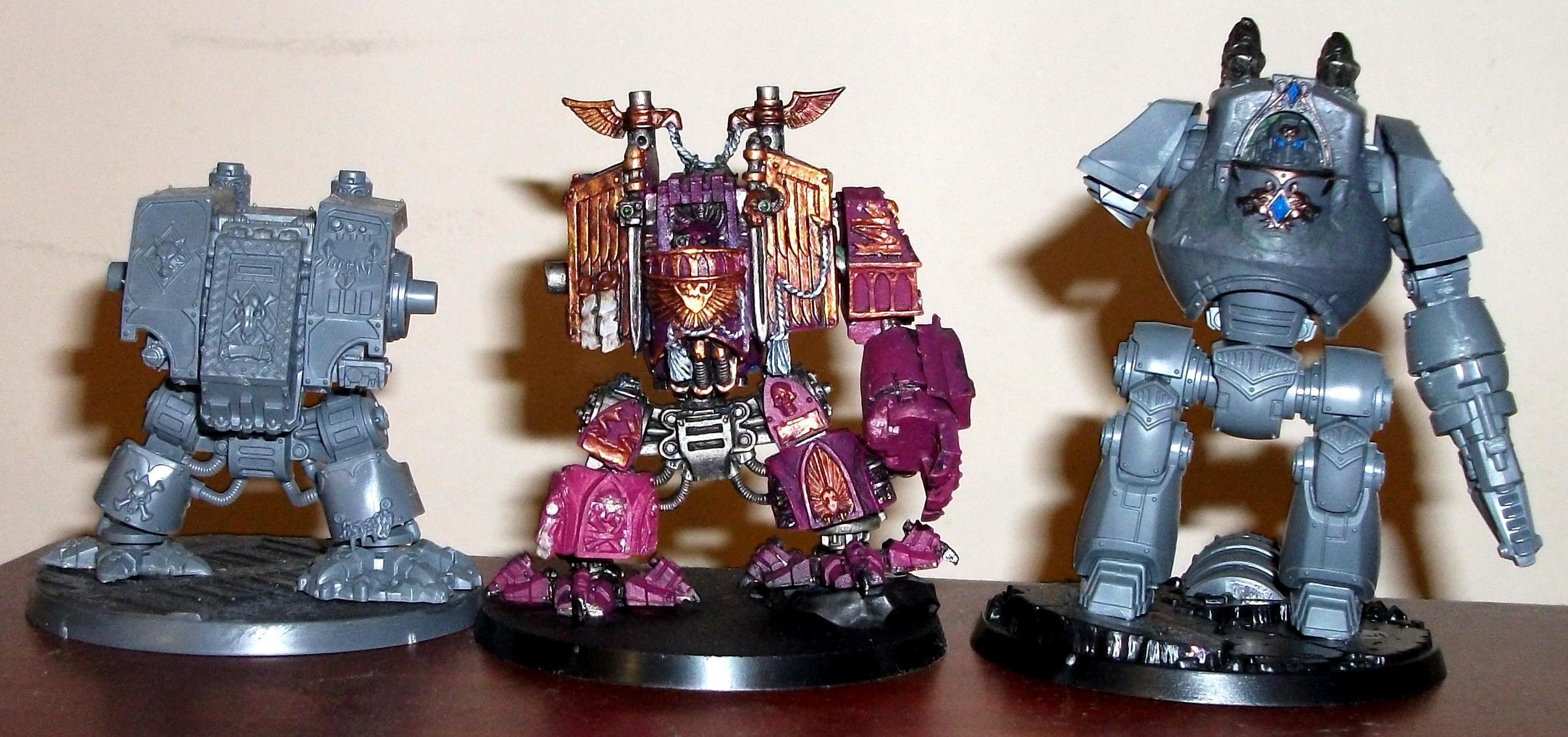 Emperor's Children Dreadnought size comparison
