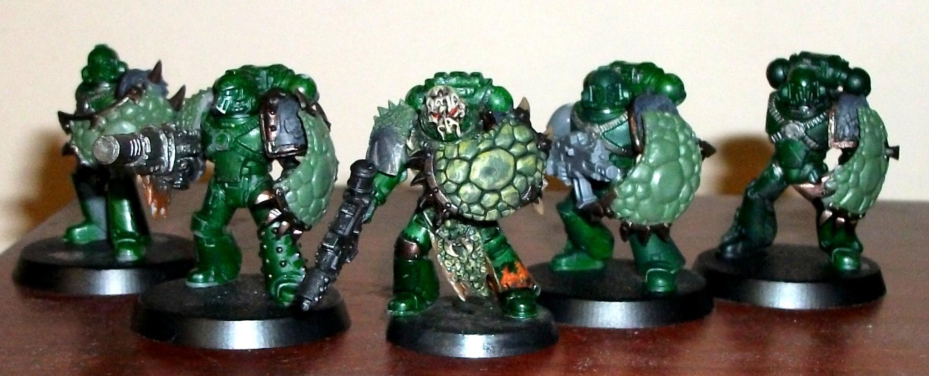 Salamanders Breacher Squad