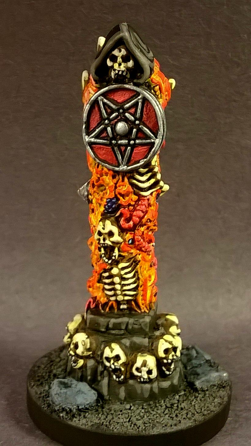 02094: Pillars Of Good & Evil, Dungeons And Dragons, Fantasy Miniature, Pathfinders, Reaper Miniatures, Reaper Minis