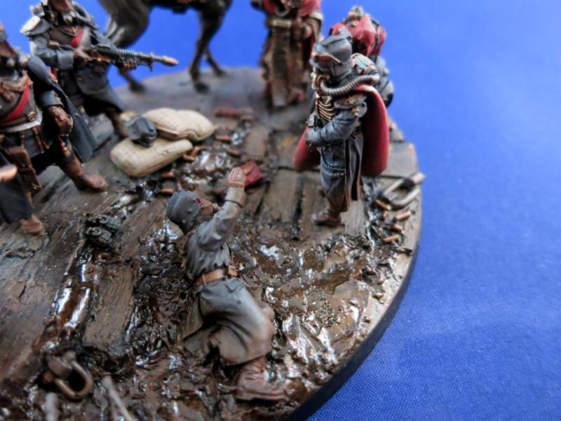 Astra Militarum, Death Korps of Krieg, Diorama, Dkk, Execution, Imperial Guard