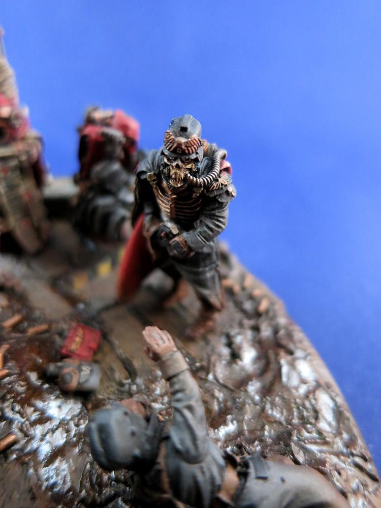 Astra Militarum, Death Korps of Krieg, Diorama, Dkk, Imperial Guard, Quartermaster
