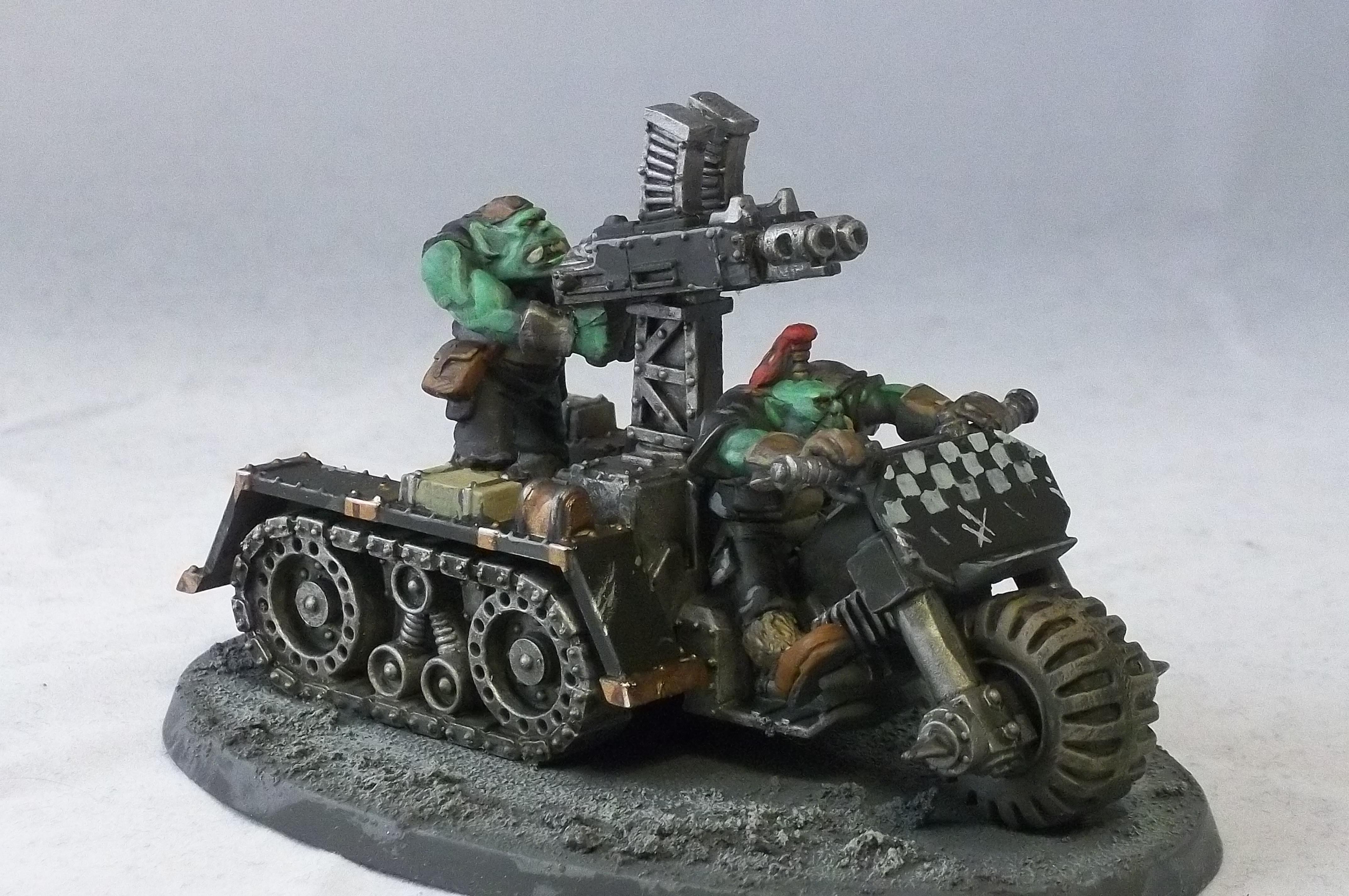 Battle For Vedros, Goffs, Orks, Wartrakk