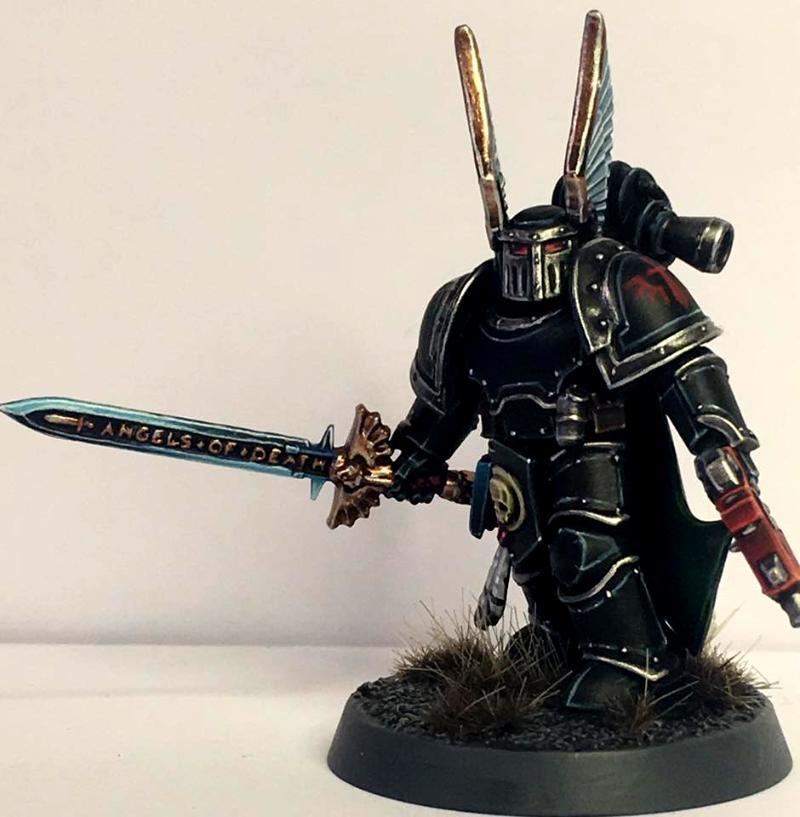 Dark Angels Preheresy / Horus Heresy Captain Mark Iii Iron Power Armour - Dark Angels Preheresy ...