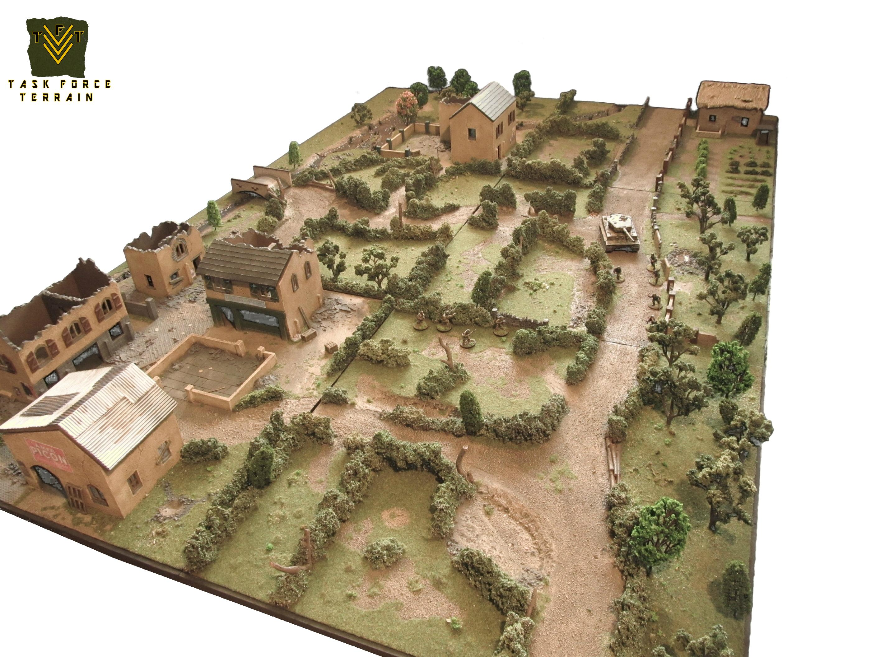 28mm, Buildings, Game Table, Gametable, Terrain, Wargames, World War 2